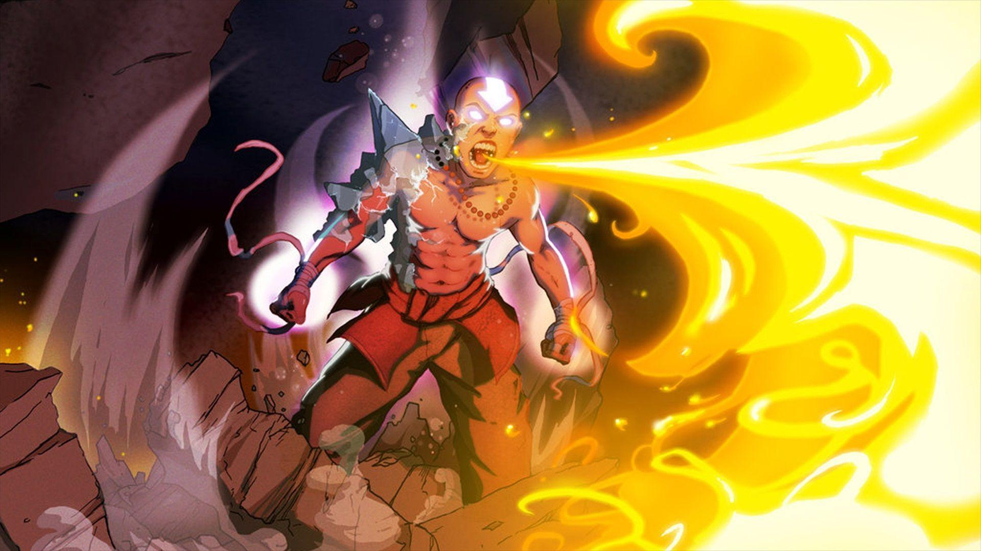 Avatar aang wallpaper hd