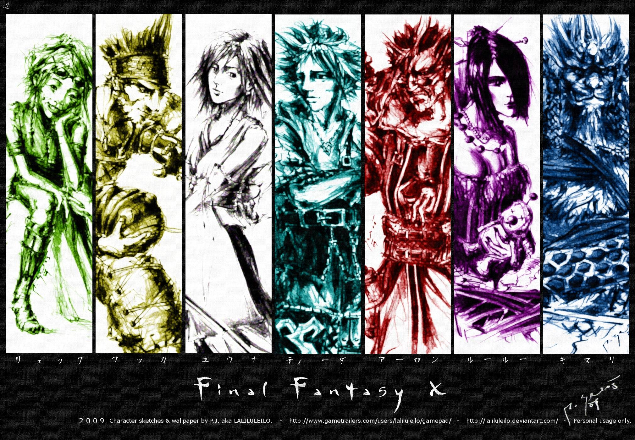 final fantasy x wallpapers wallpaper cave