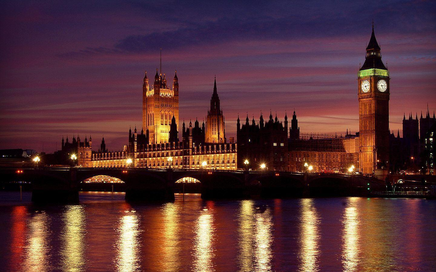 London At Night Desktop Wallpapers Download Wallpapers United