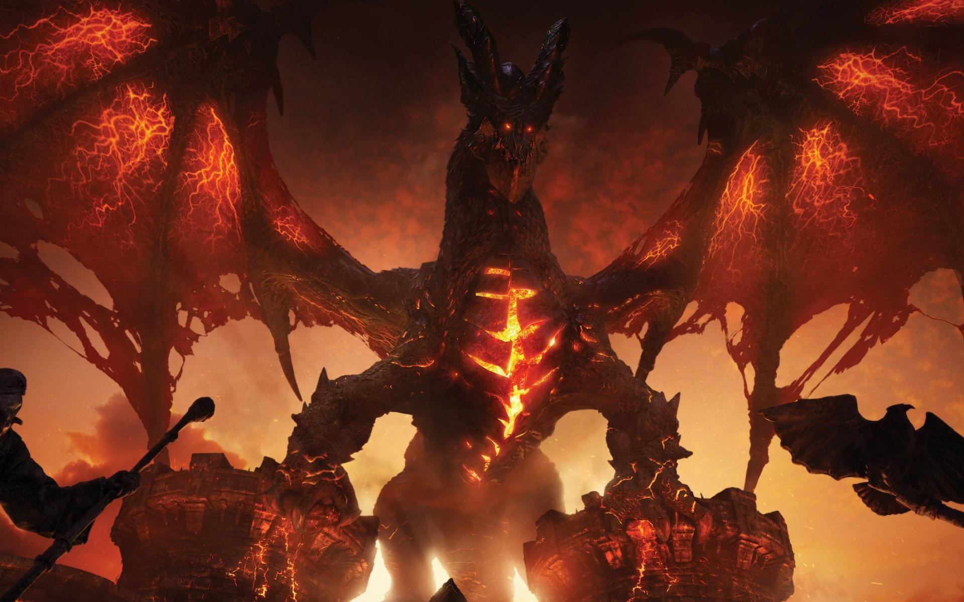 Deathwing Wallpapers - Wallpaper Cave