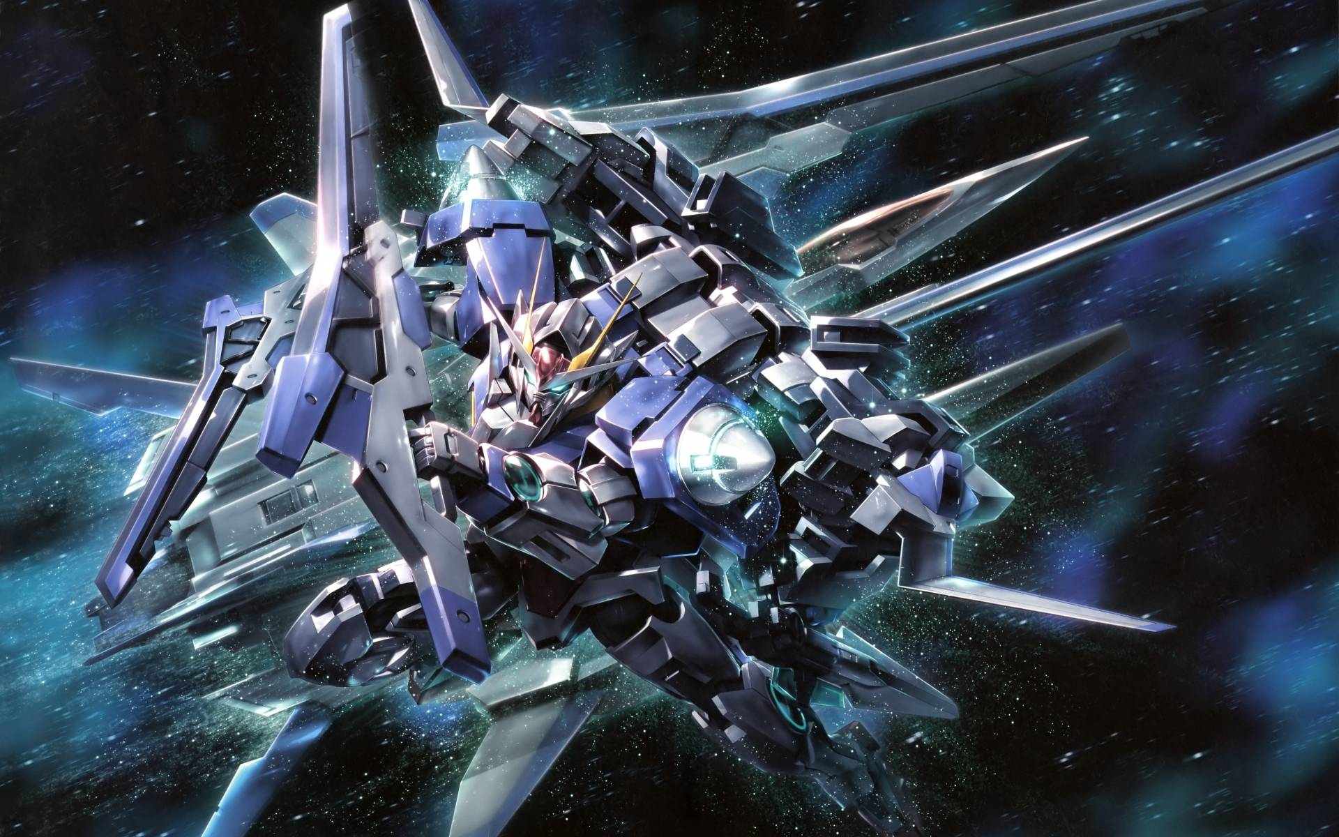 Mobile Suit Gundam 00 Wallpapers - Wallpaper Cave