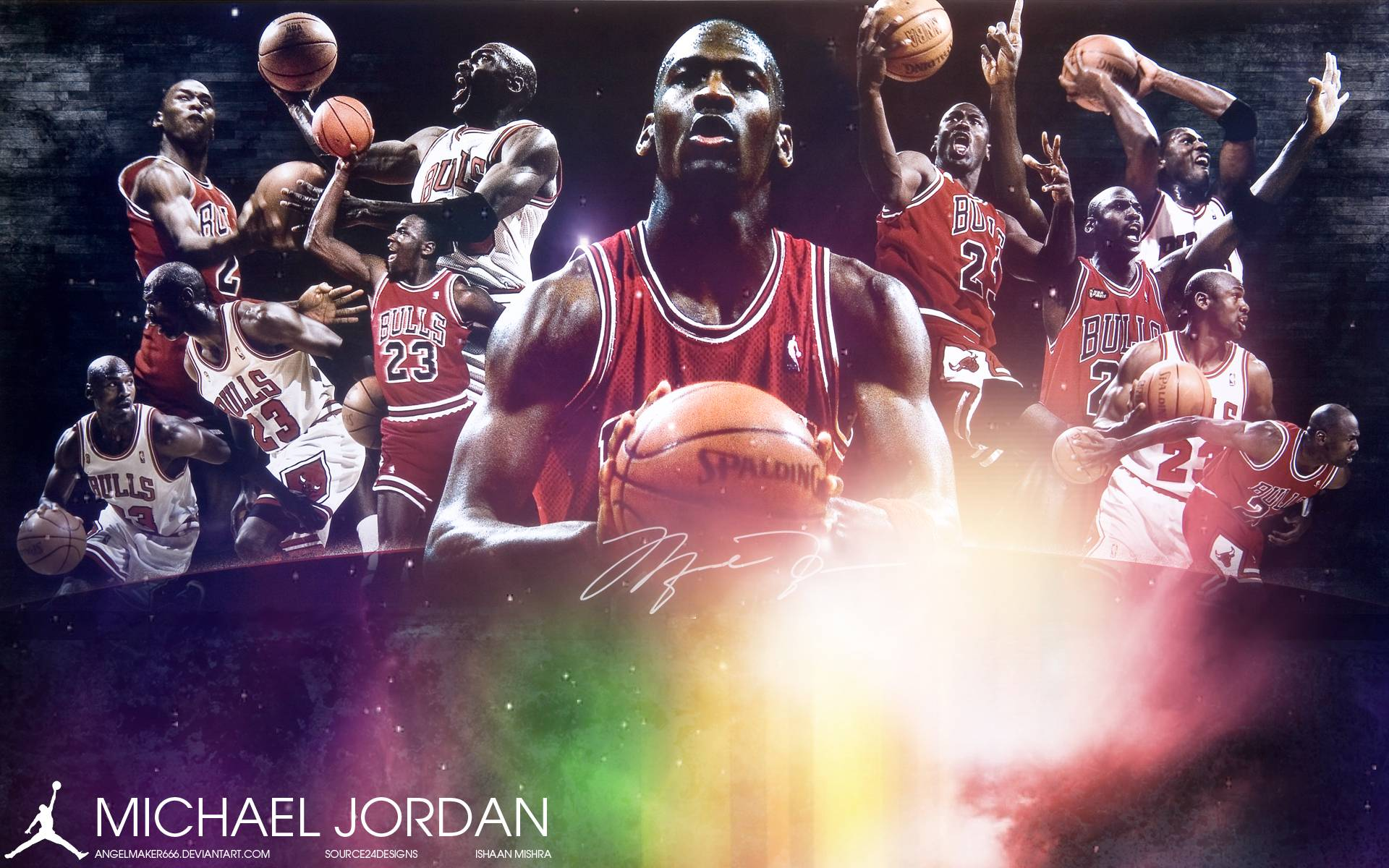 Air Jordan Wallpaper by Angelmaker666 on DeviantArt