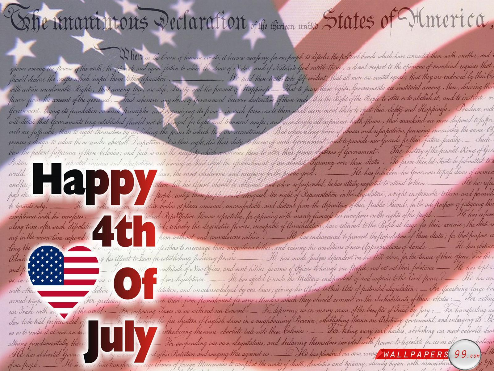 Free 4th July Backgrounds Wallpaper Cave