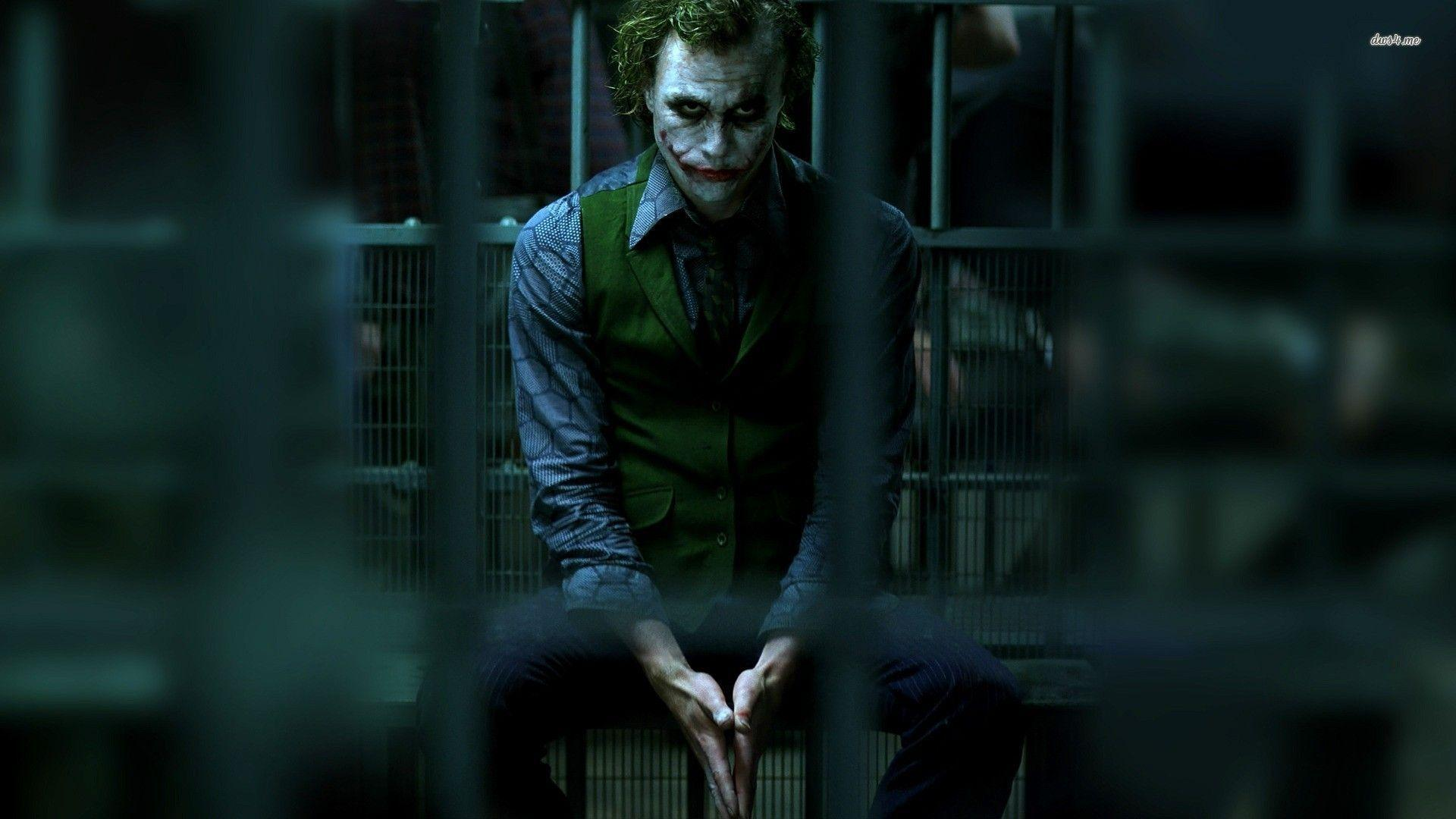 Wallpapers For > The Dark Knight Joker Face Wallpaper