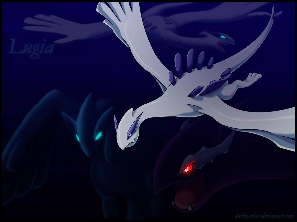 Lugia Vs Shadow Lugia The Movie Lugia Wallpapers - Wal...