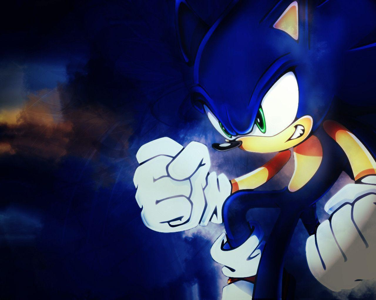 Wallpapers For > Classic Sonic The Hedgehog Wallpapers Hd