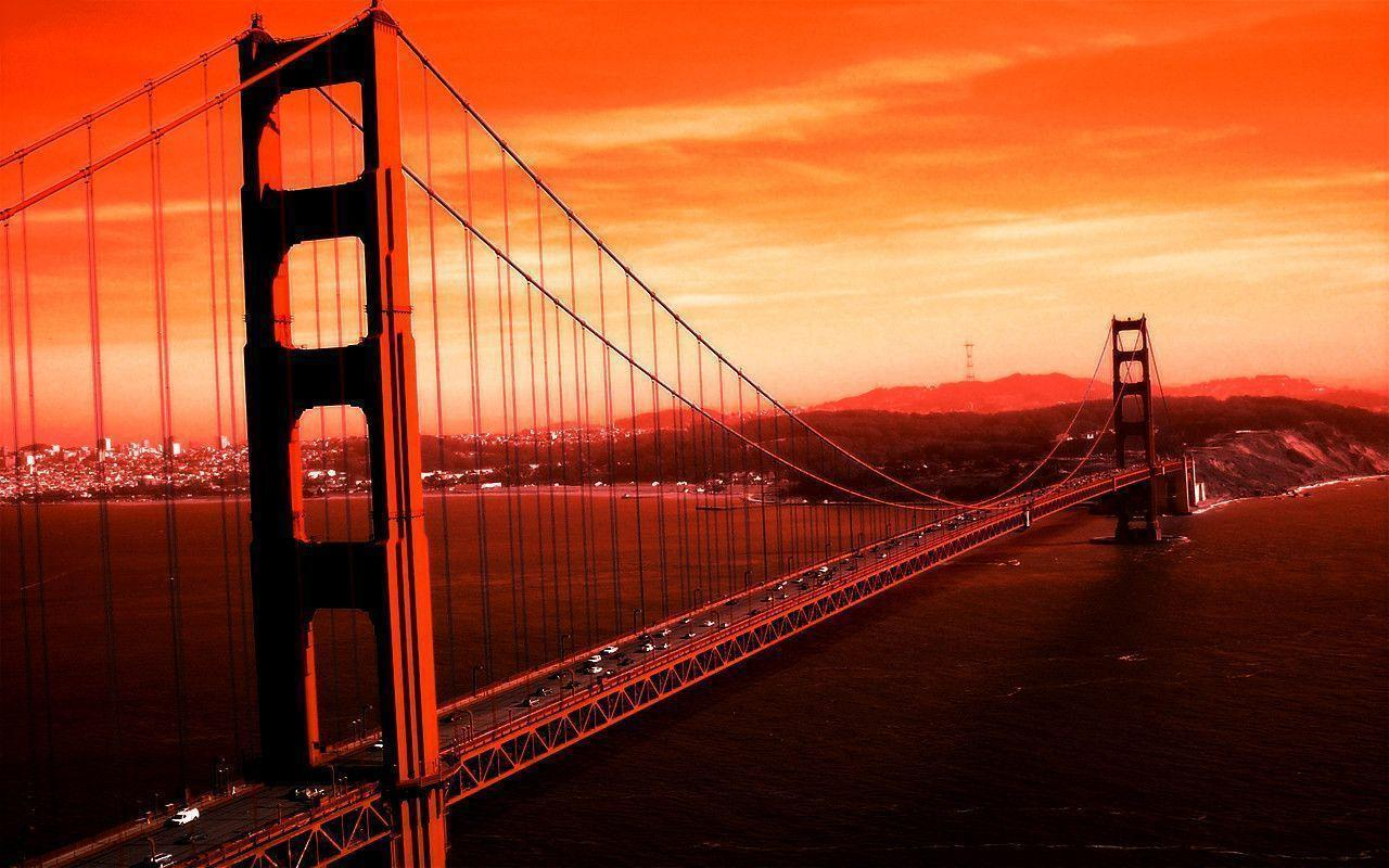 golden gate bridge lovely Hd desktop wallpapers