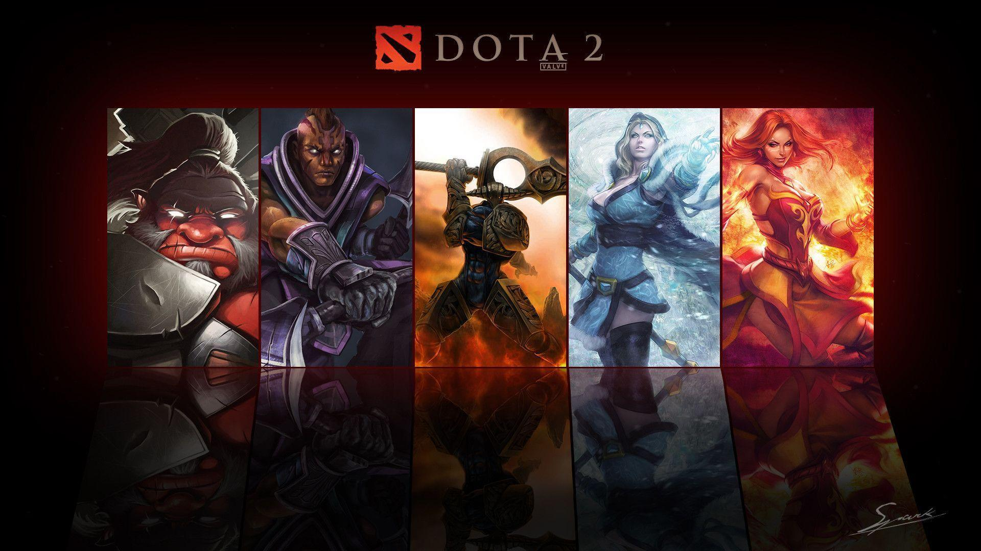 Dota 2 Wallpapers Wallpaper Cave