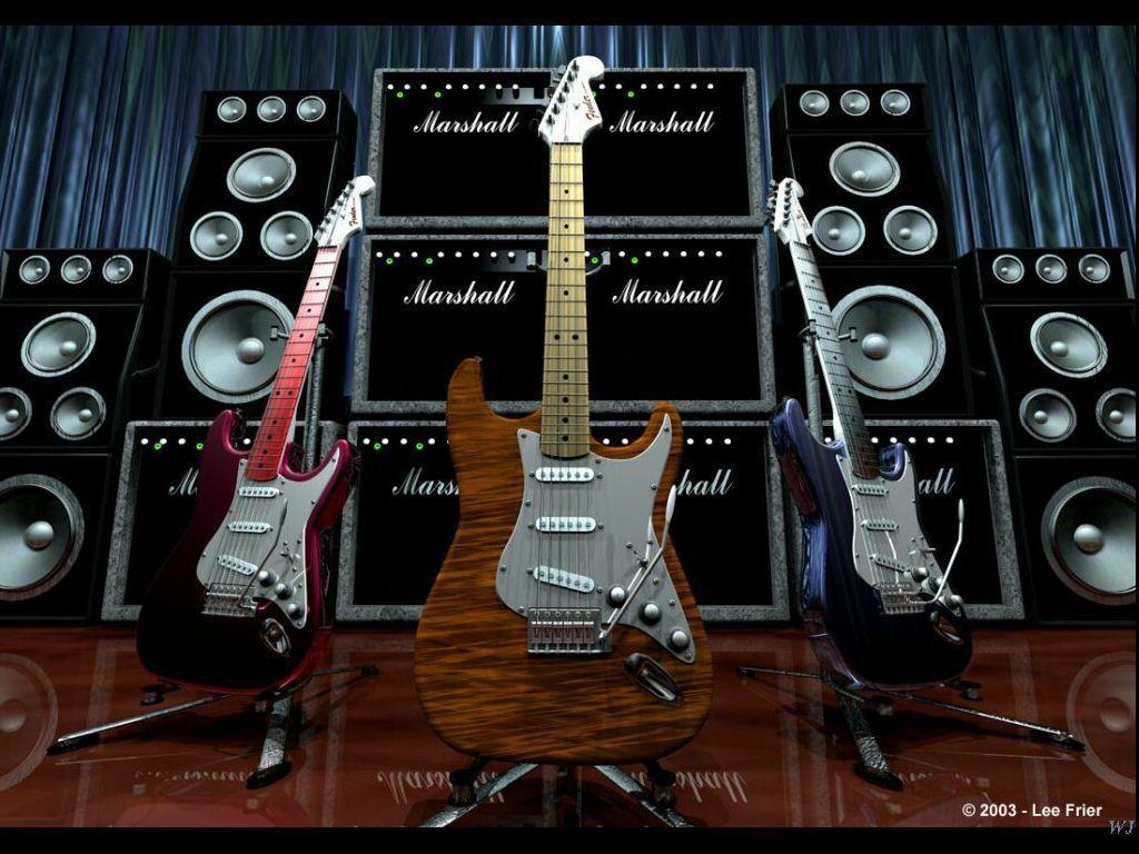 Mind Bender Fender By Lee Frier Desktop Wallpaper
