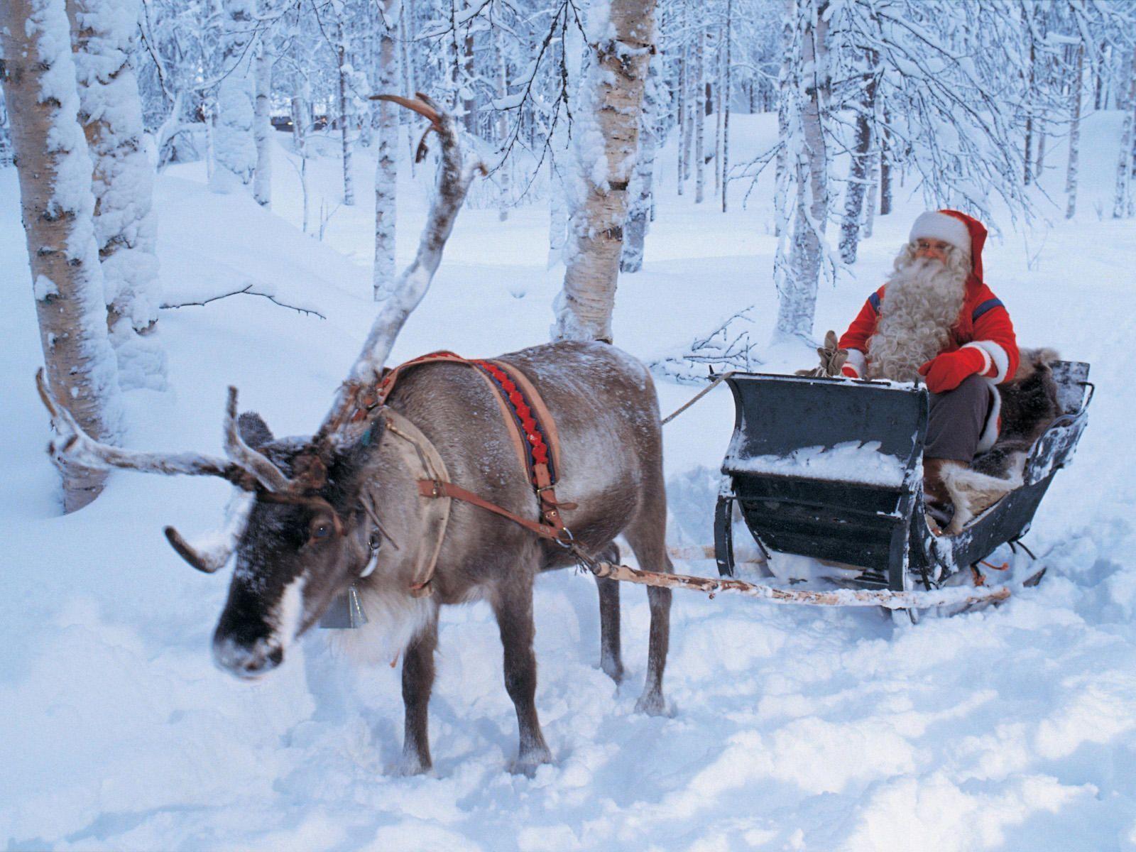 Santa Claus Wallpapers Free - Wallpaper Cave