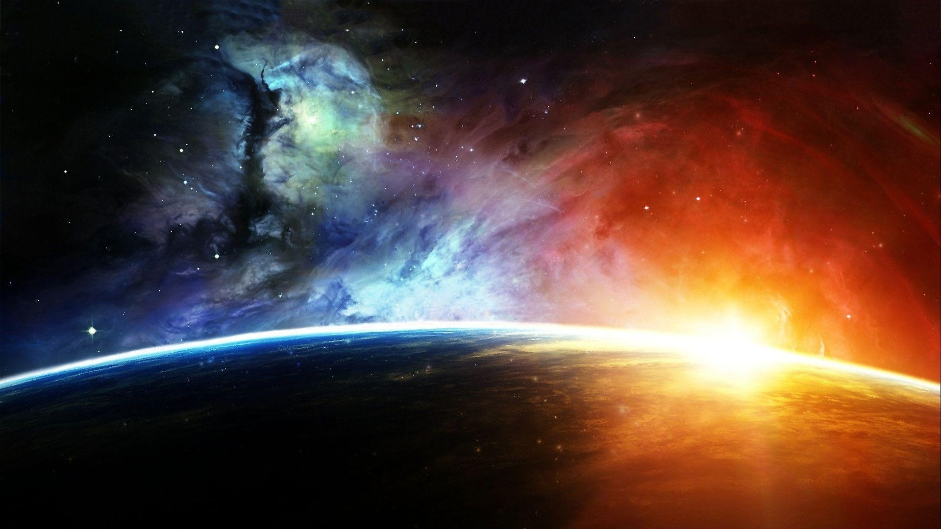 Space Wallpaper 1920X1080 Nebula Hd Background 8 HD Wallpapers