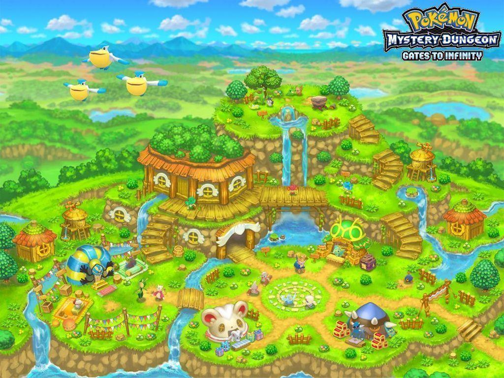 Pokemon Mystery Dungeon Gates To Infinity Wallpapers Image