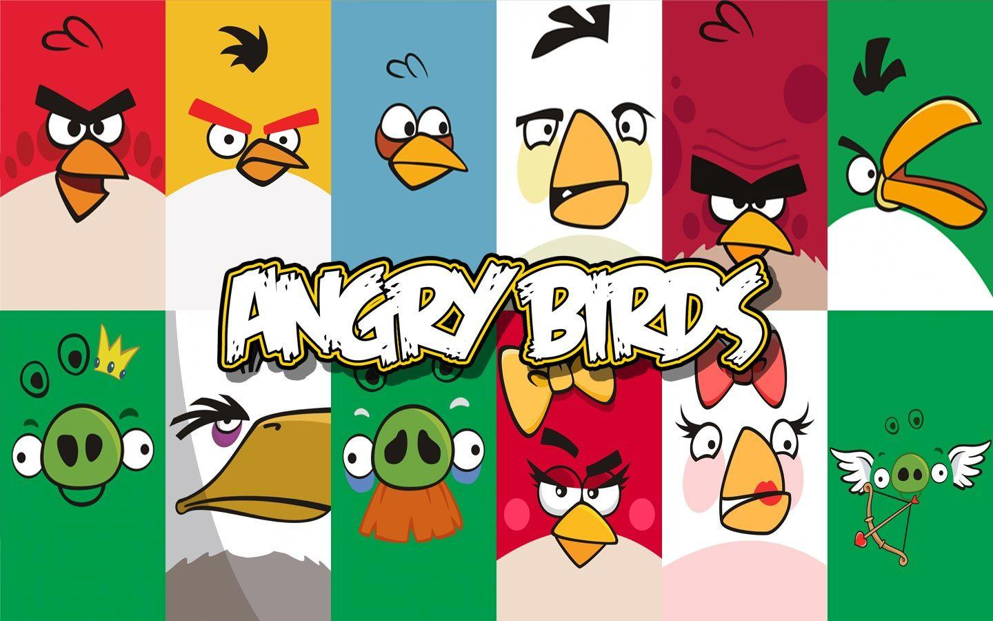 Angry Birds HD Desktop Wallpapers for
