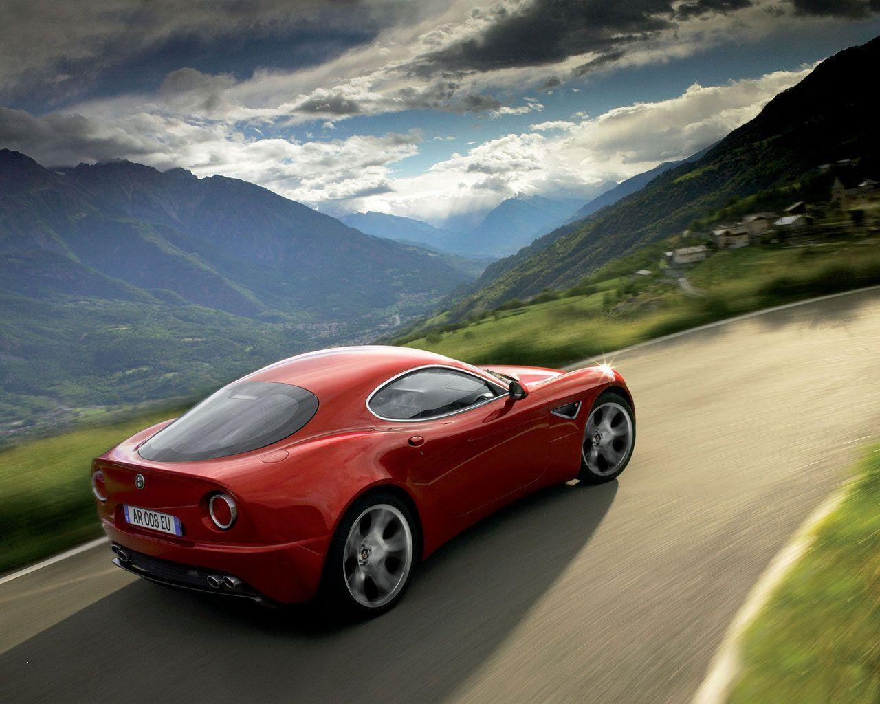 Alfa Romeo 8c Wallpapers