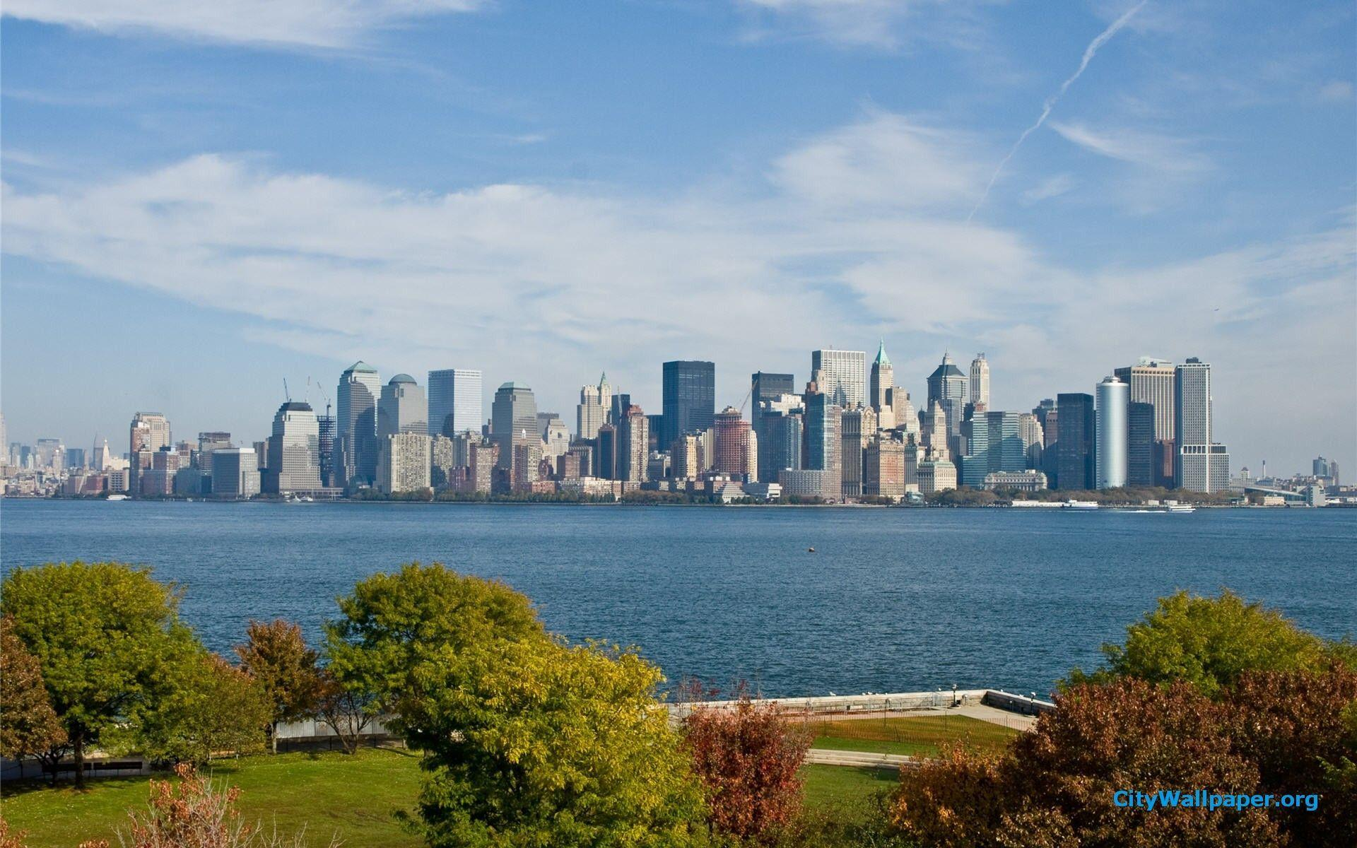 Image For > New York Skyline Wallpapers