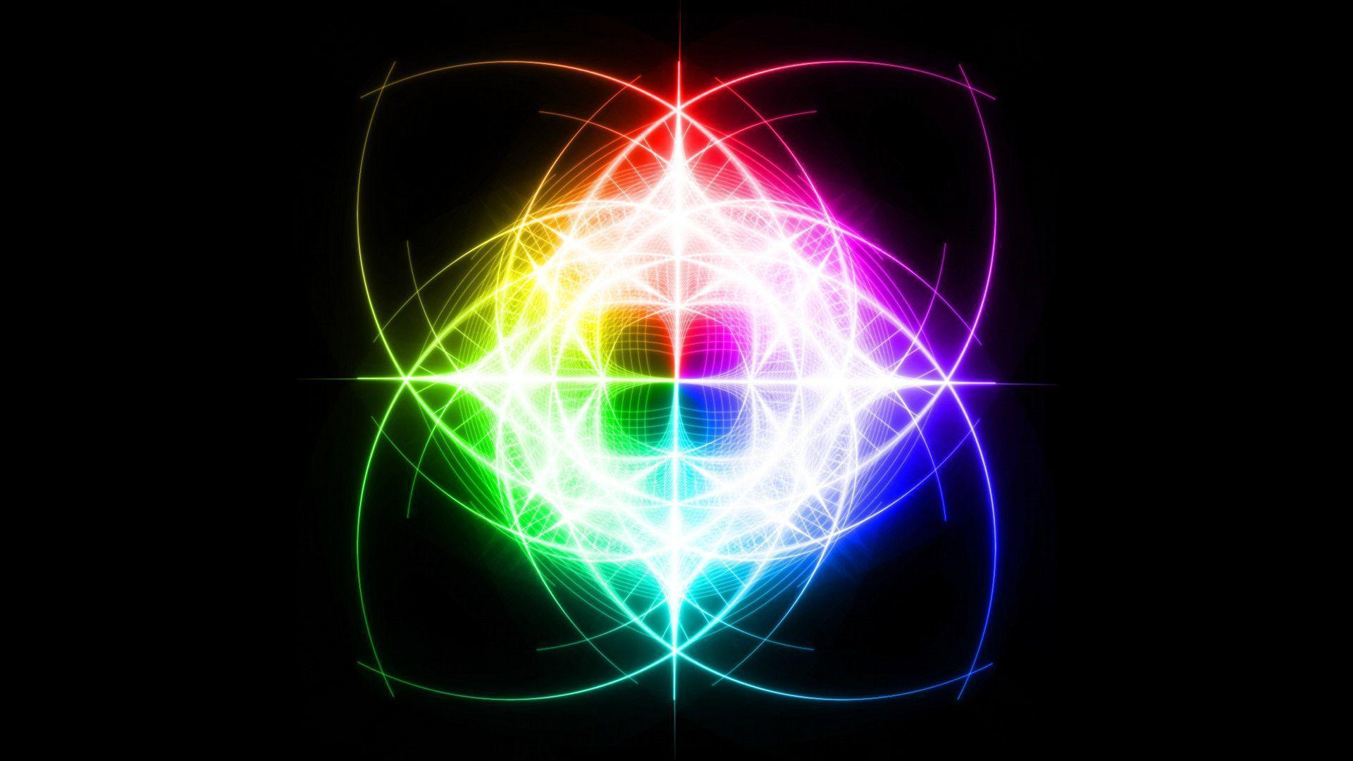 Neon rainbow backgrounds for desktop images amp pictures becuo
