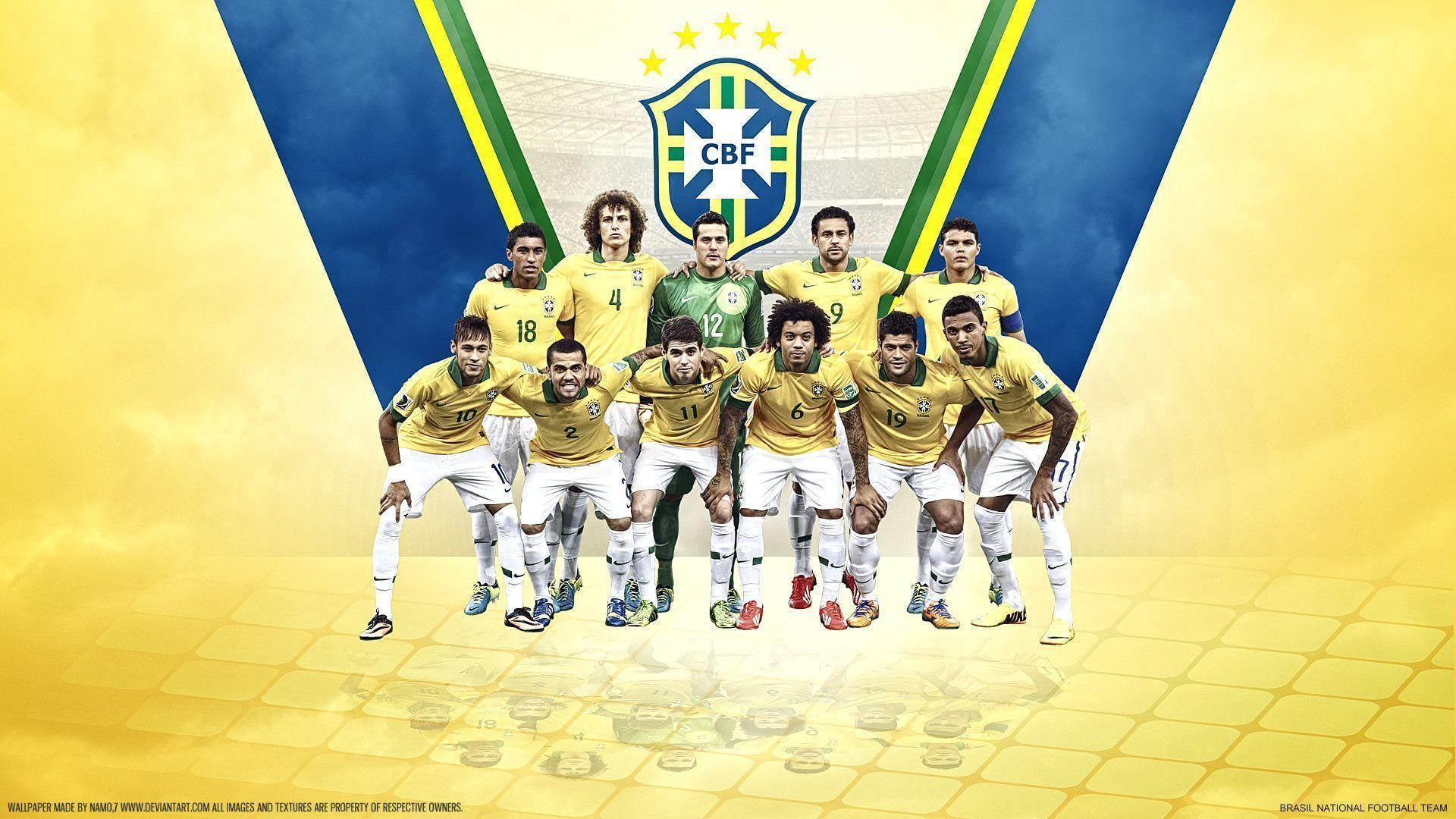 Cool Brazil national team 2014 images for wallpaper in HD ...