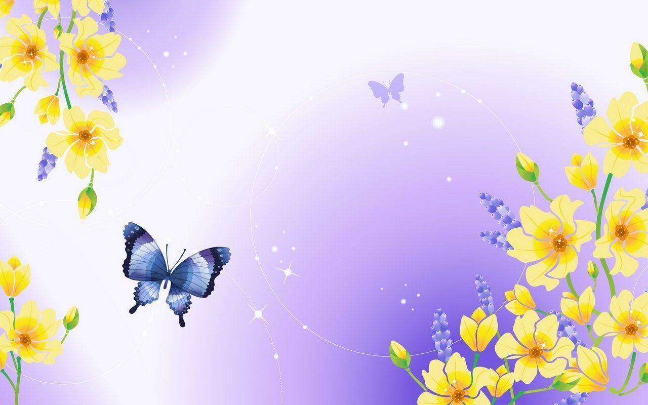 רקע של פרפרים ציור