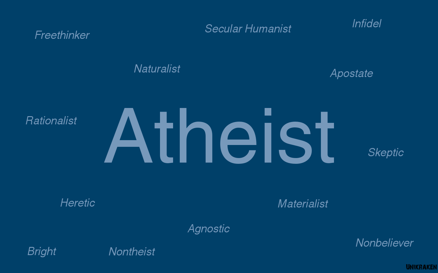 Atheism wallpapers wallpaper cave blue text atheism wallpaper 1440x900 210053 wallpaperup voltagebd Choice Image