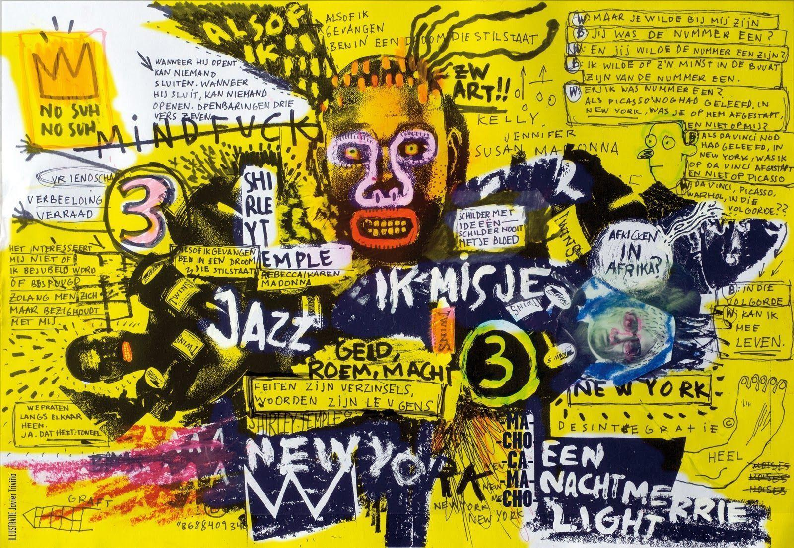 Pix For > Jean Michel Basquiat Wallpaper Crown