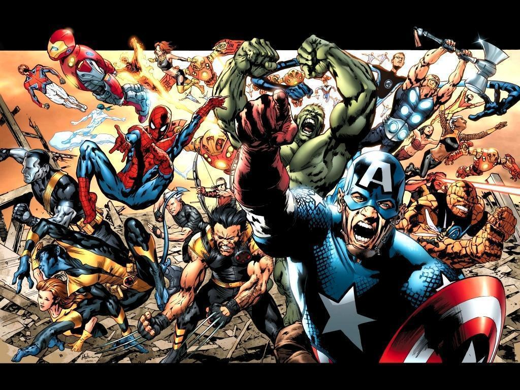 Marvel Comics Logo Wallpaper Hd Background 9 HD Wallpapers