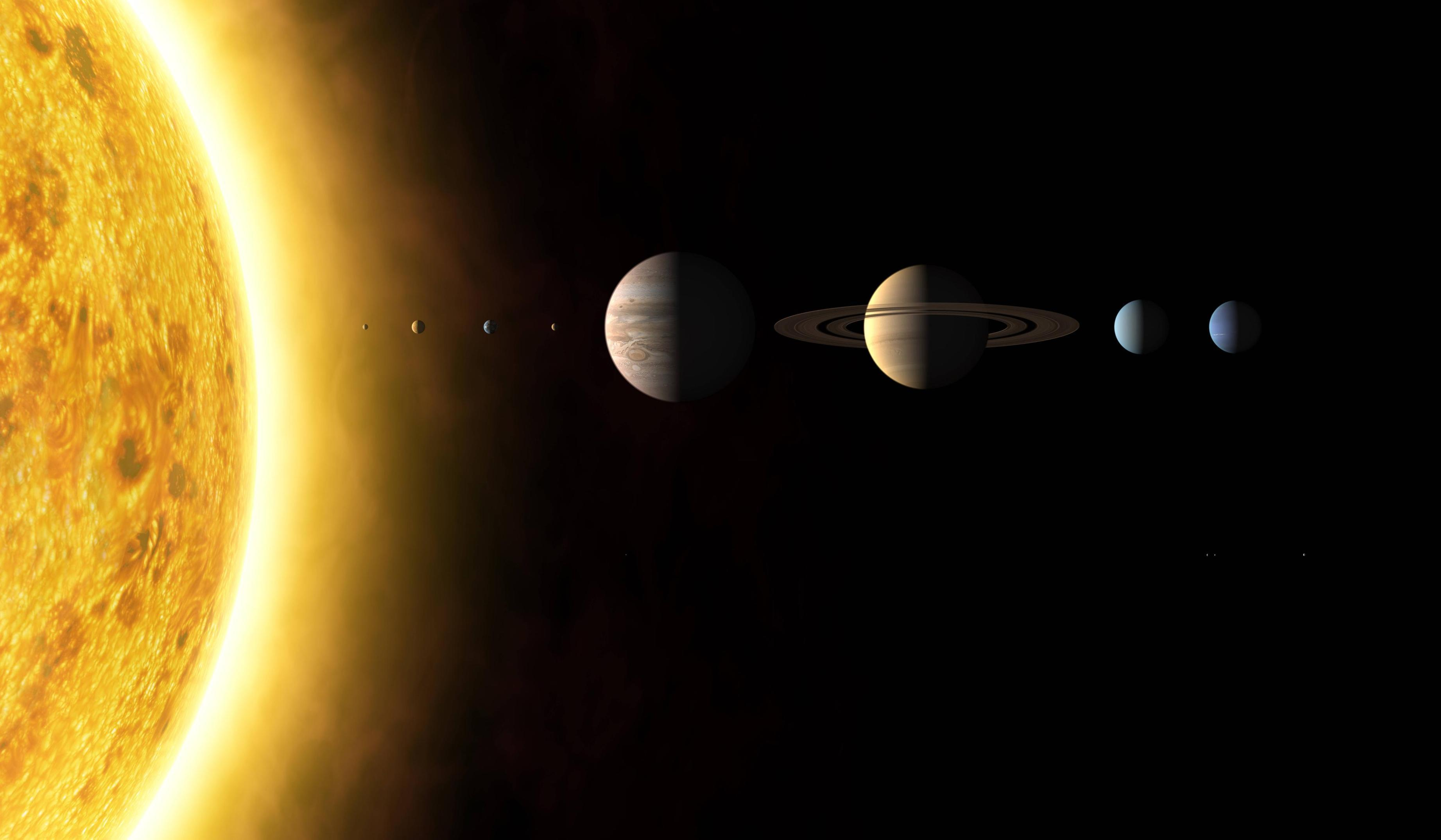 best solar system wallpaper - photo #3