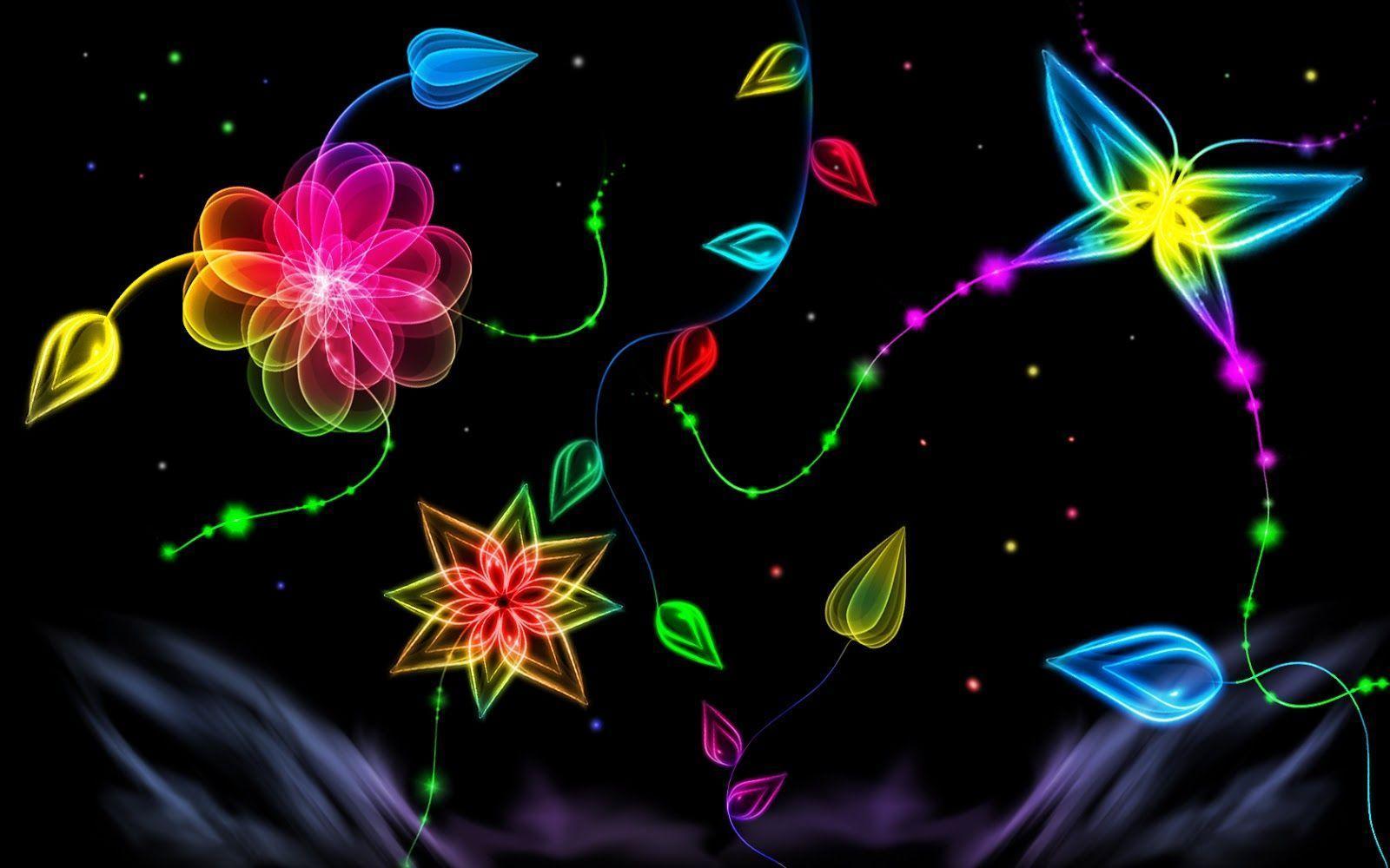 neon lights wallpaper - photo #33