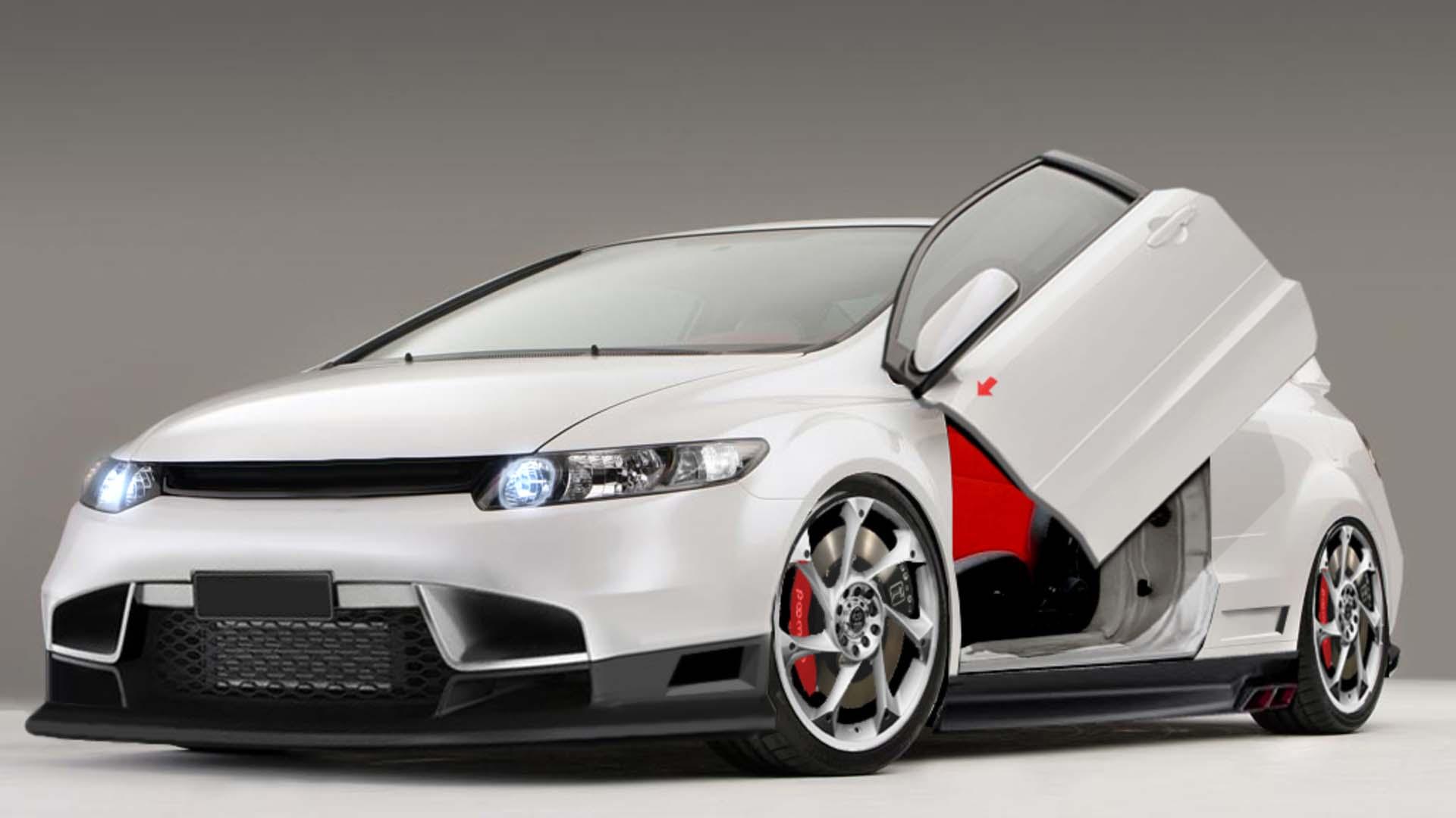 Honda Civic Si High Quality Wallpaper