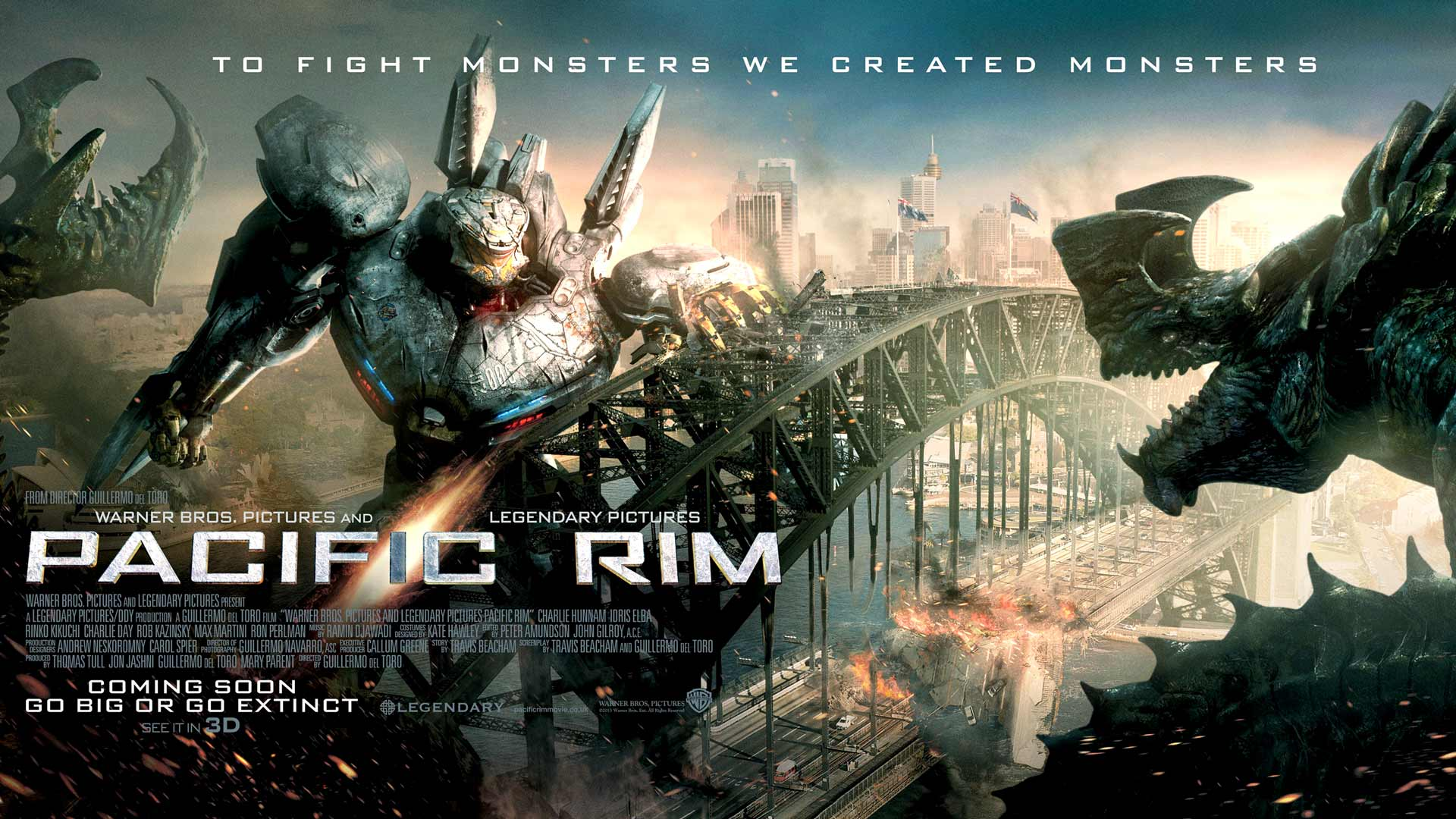 pacific rim wallpapers desktop backgrounds movie wallpapers hd