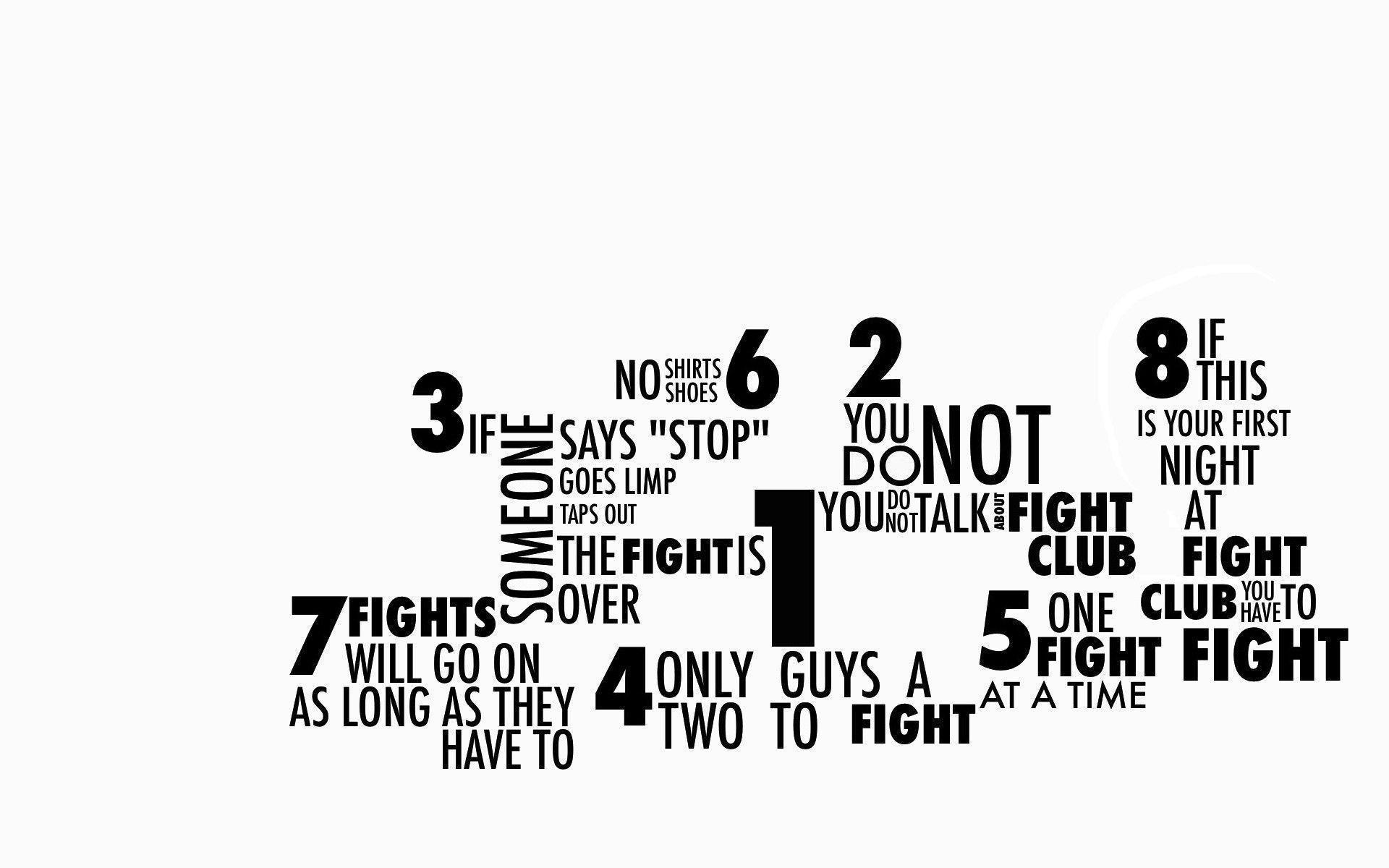 fight club hd poster