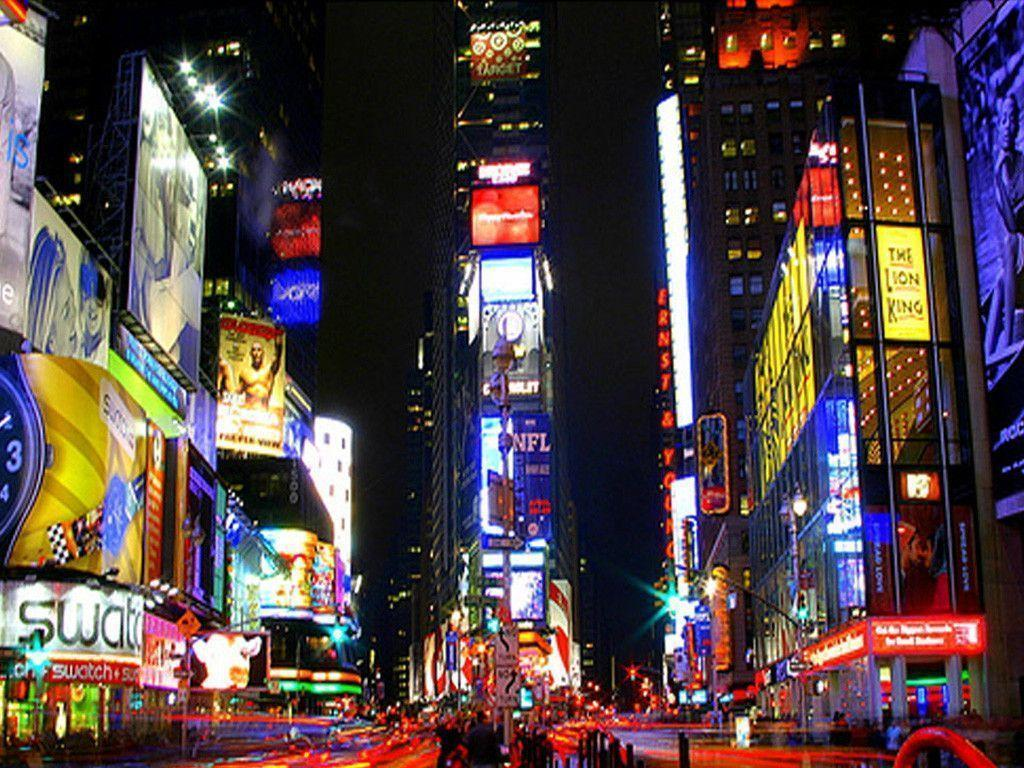 Times Square Midtown Mathattan wallpaper