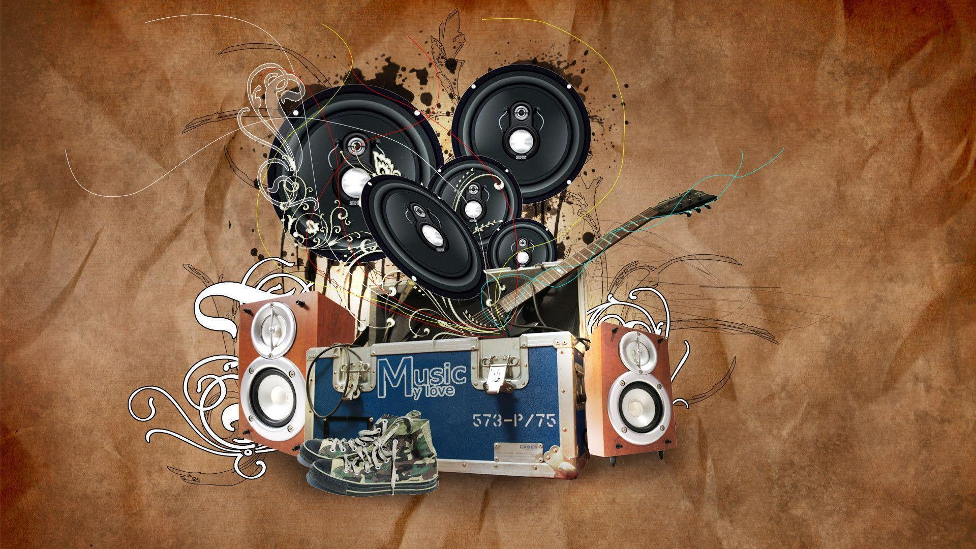 Wallpapers Hd 3d Music: Music Wallpapers 1920x1080
