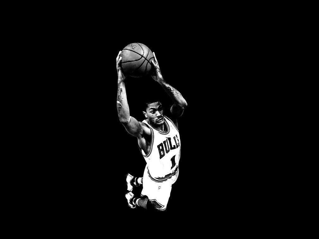 Knight Basketball Player Wallpaper: Derrick Rose Logo Wallpapers