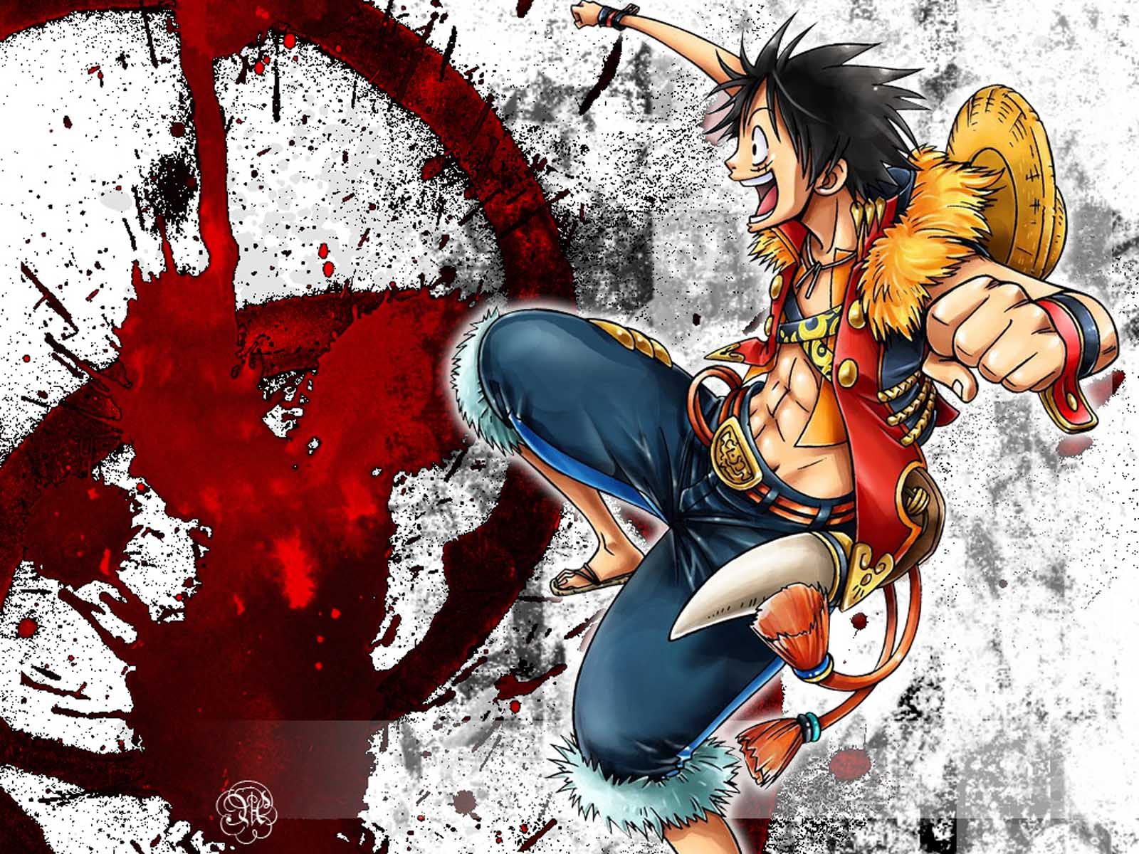 One Piece Wallpaper Luffy 14 Backgrounds | Wallruru.com