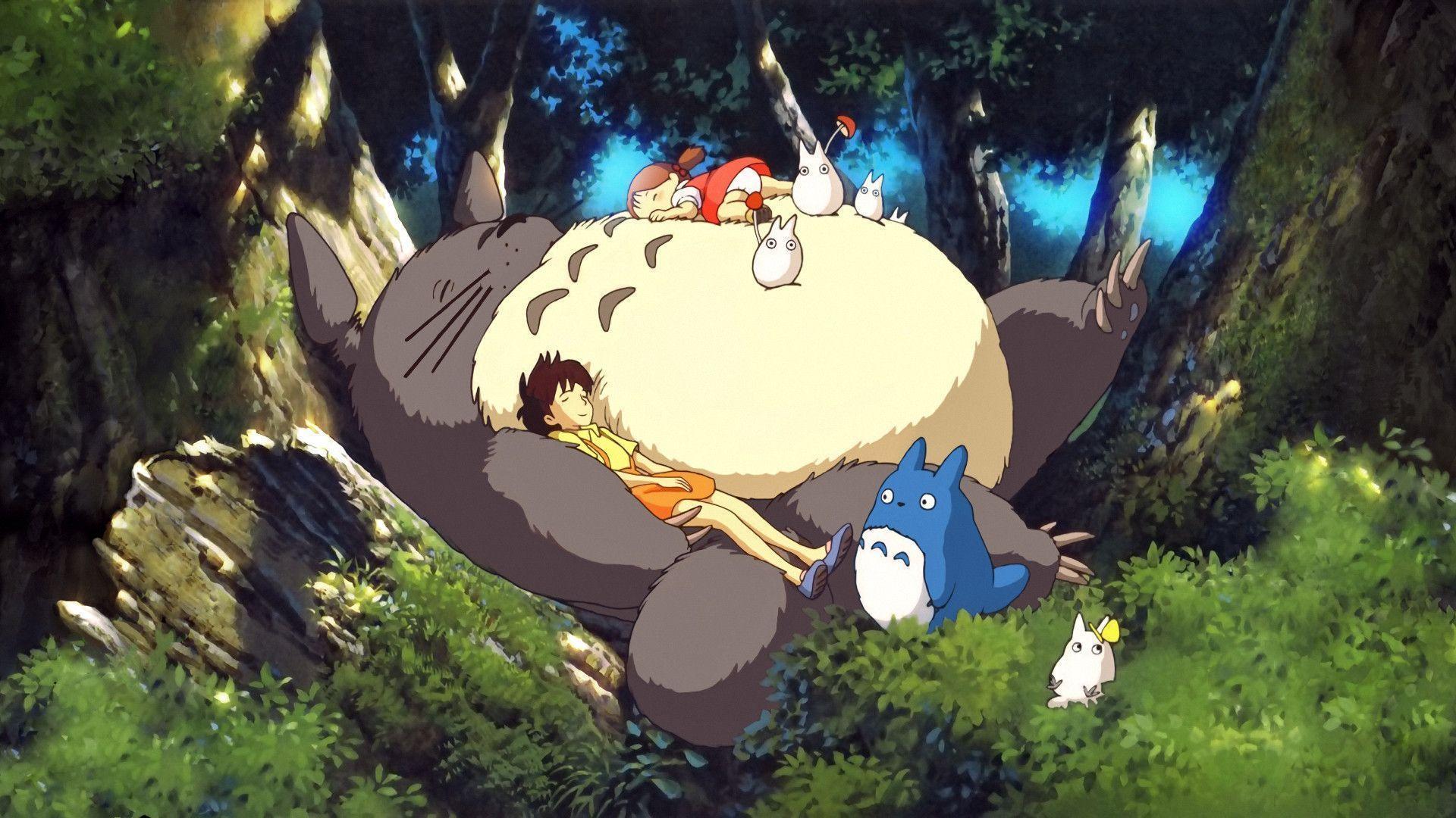 Totoro Backgrounds
