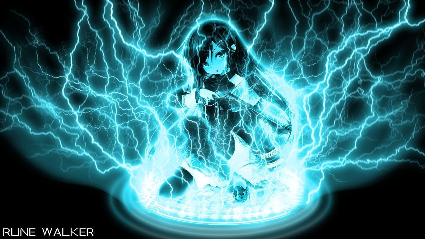Lightning Bolt Wallpaper by Chirunochi on DeviantArt