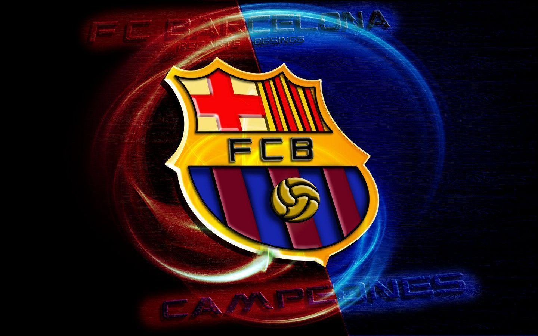 Download Beautiful Fc Barcelona Logo Hd On Widescreen Wallpaper ...