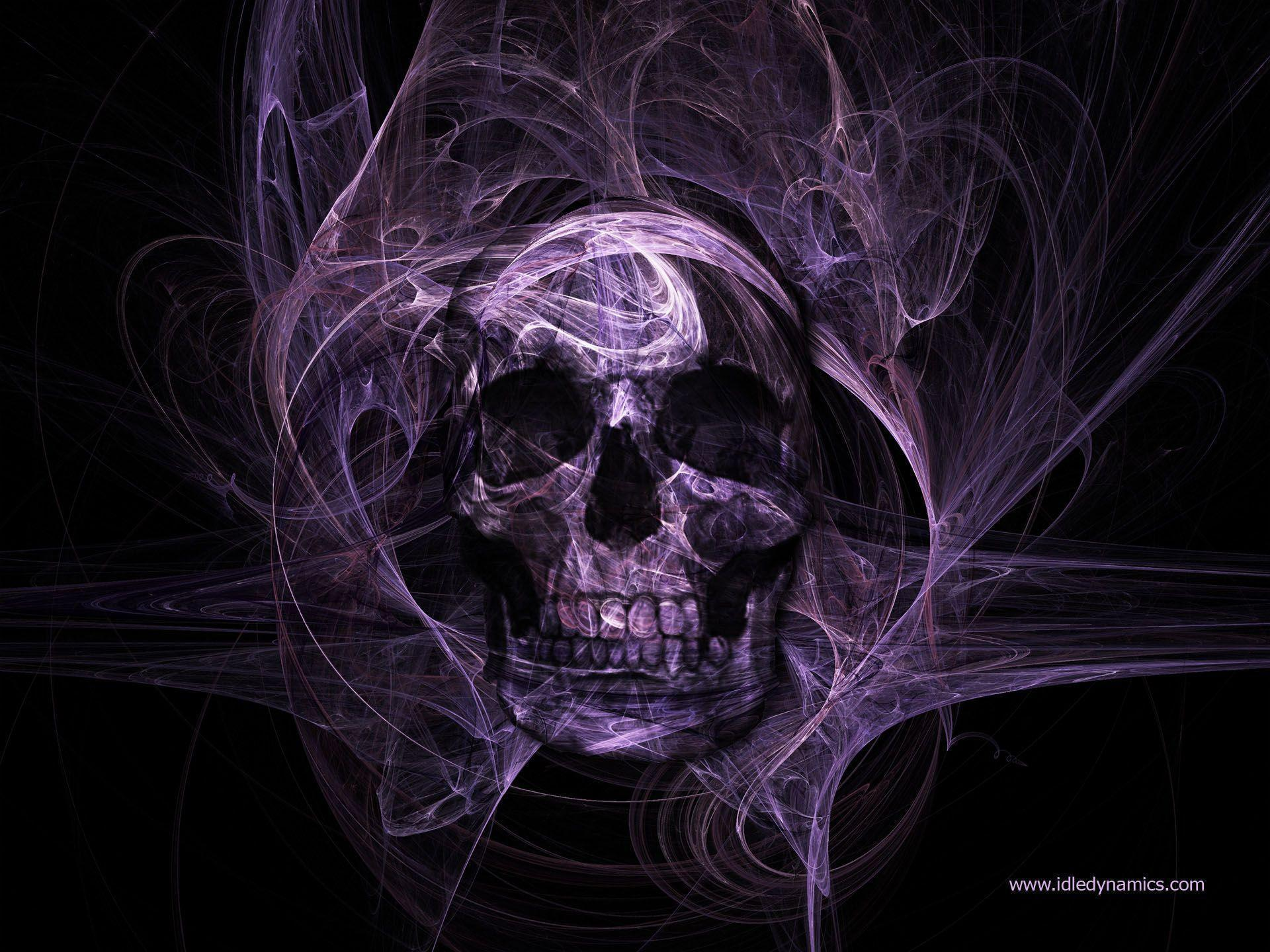 skull wallpaper wallpapers hd - photo #25