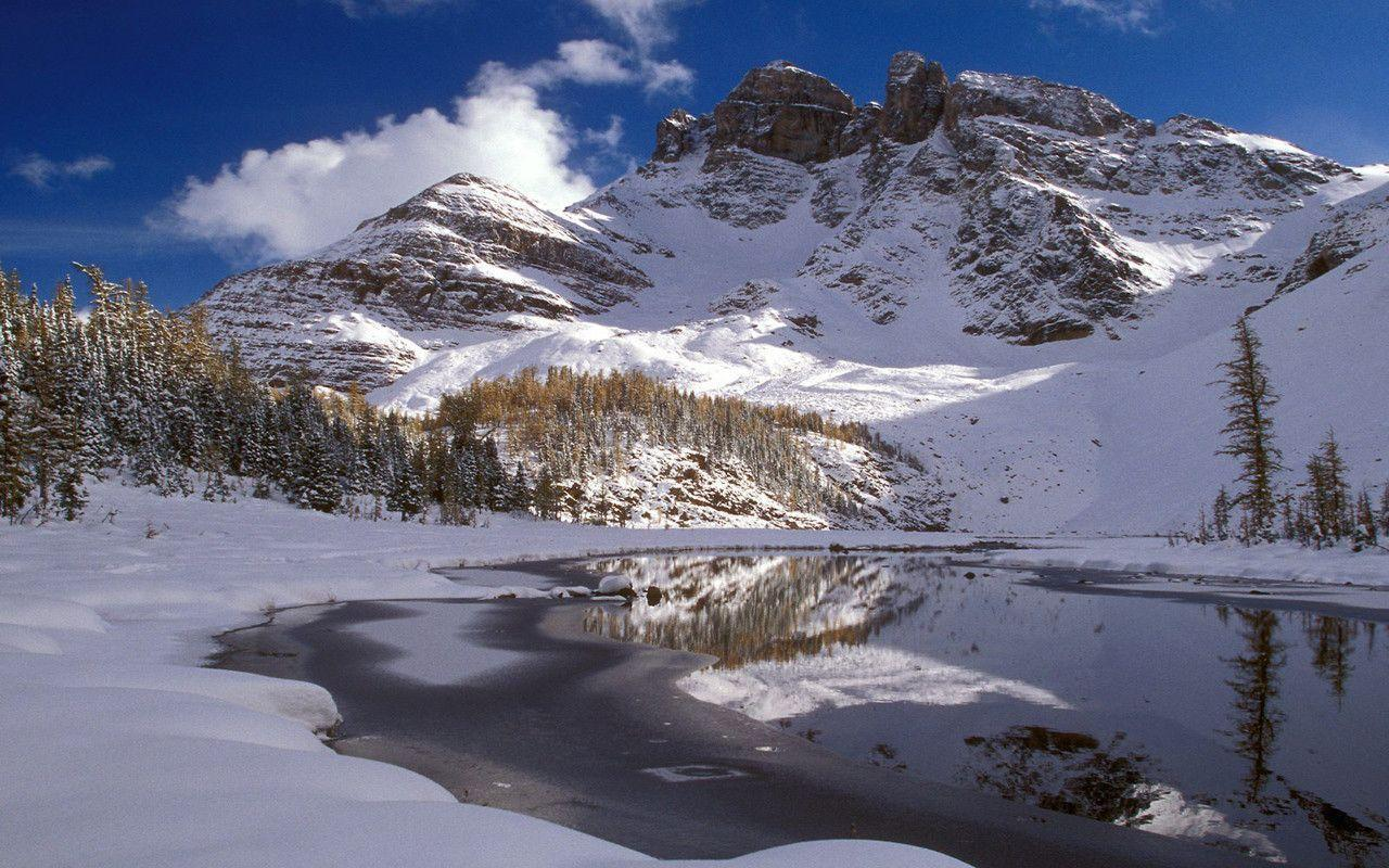 Winter Mountain Wallpapers - Wallpaper Cave