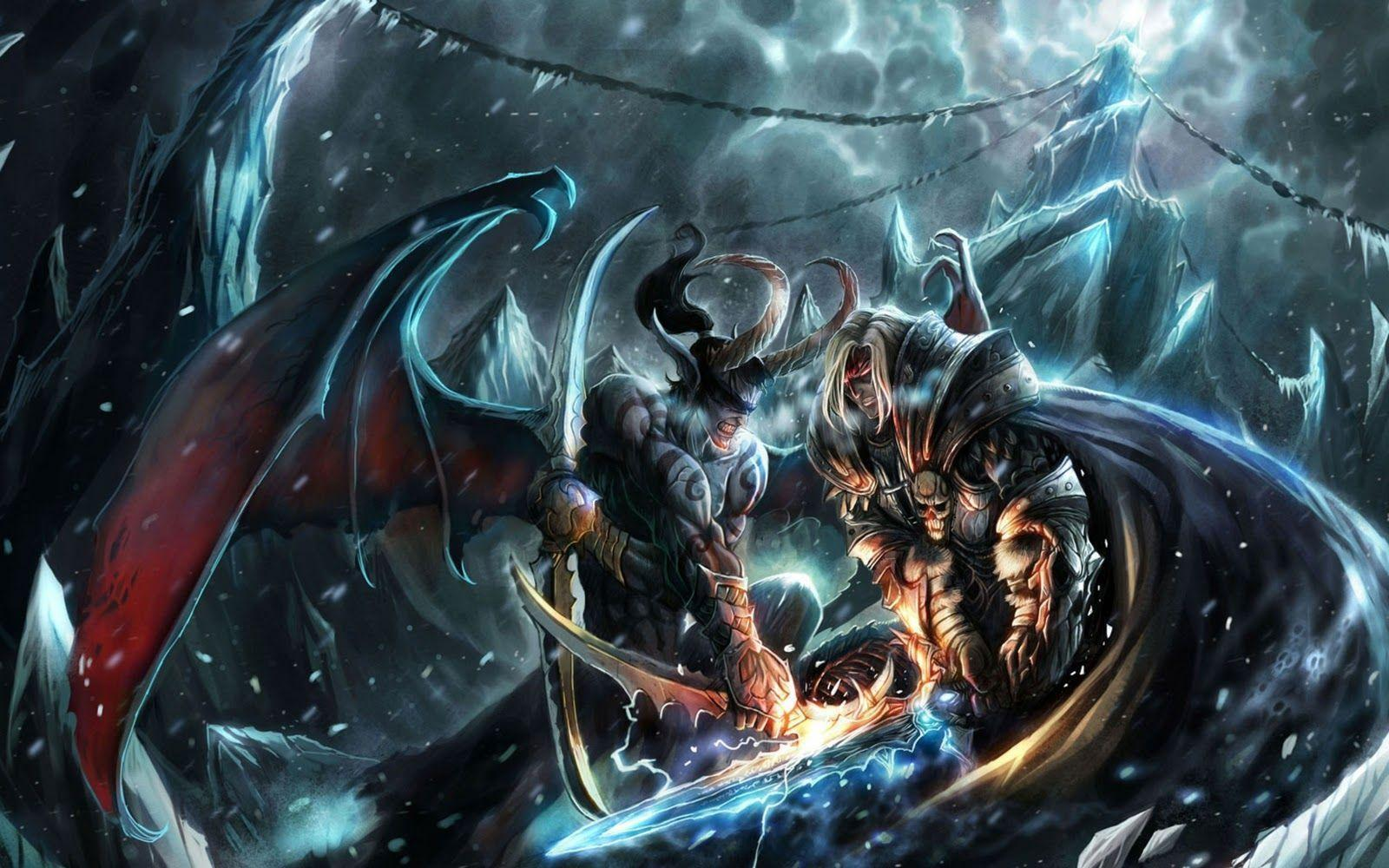 Cover Lilidn vs Arthas WoW hd Wallpapers