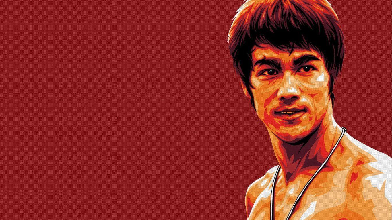 Pix For > Bruce Lee Backgrounds