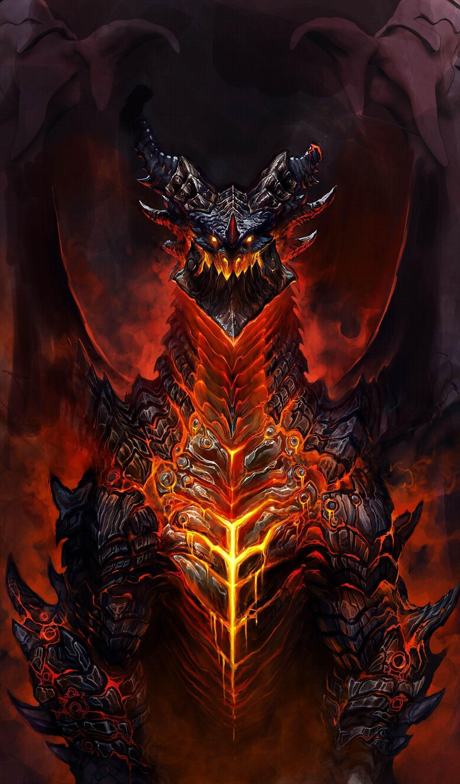 Deathwing Wallpapers Wallpaper Cave