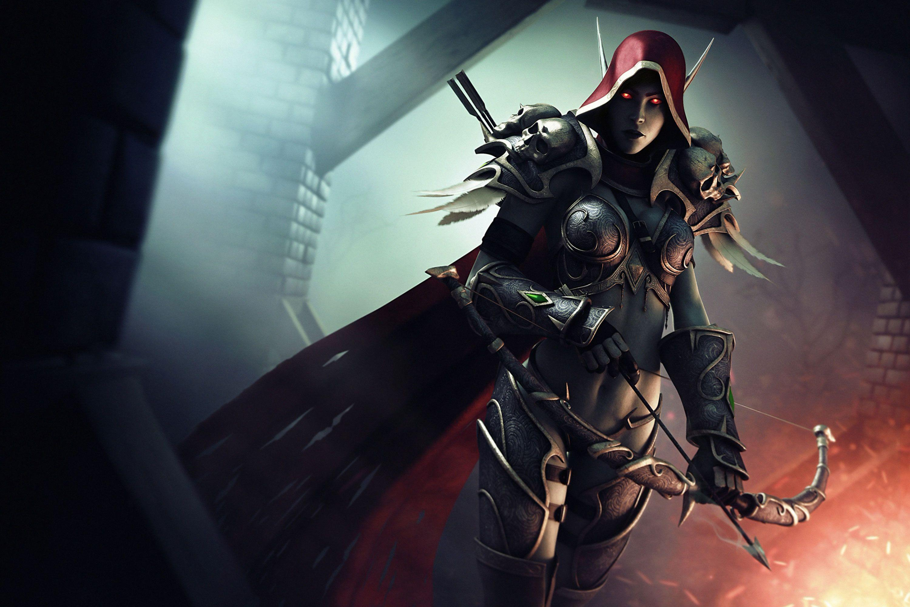 Sylvanas Windrunner Wallpapers - Wallpaper Cave