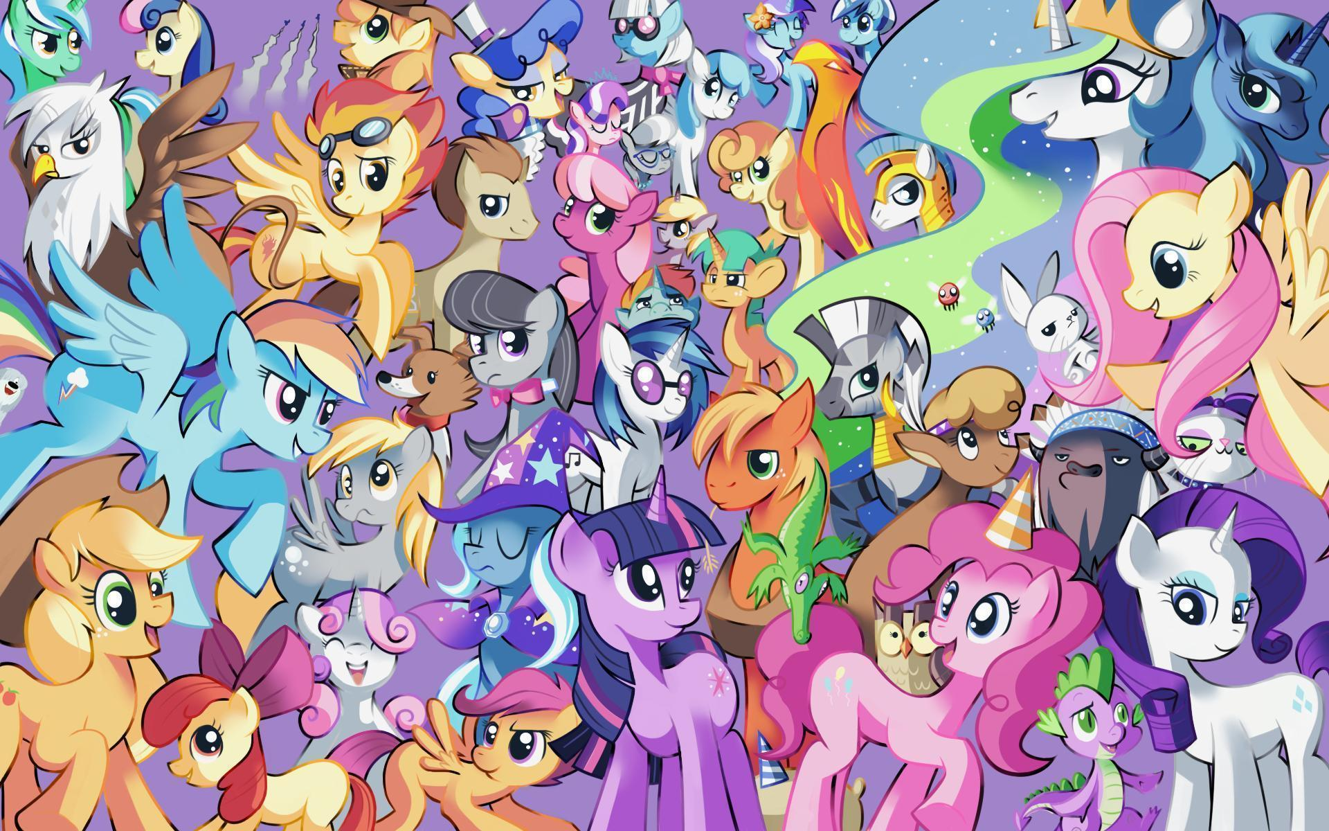 my little pony backgrounds wallpaper cave
