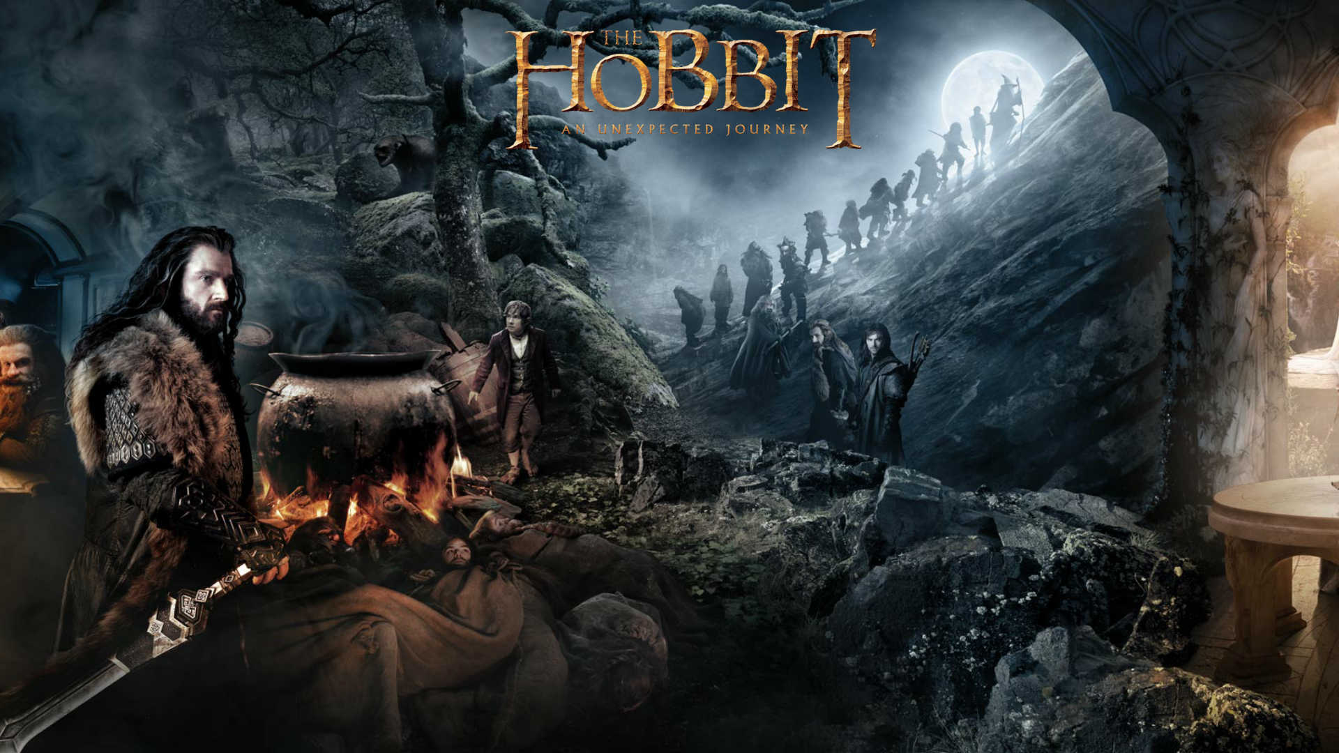 The Hobbit Wallpaper - The Hobbit Wallpaper (33042231) - Fanpop