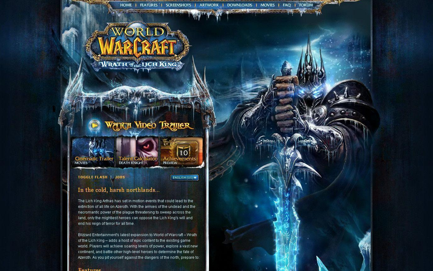 World of Warcraft: Wrath of The Lich King Wallpaper ...