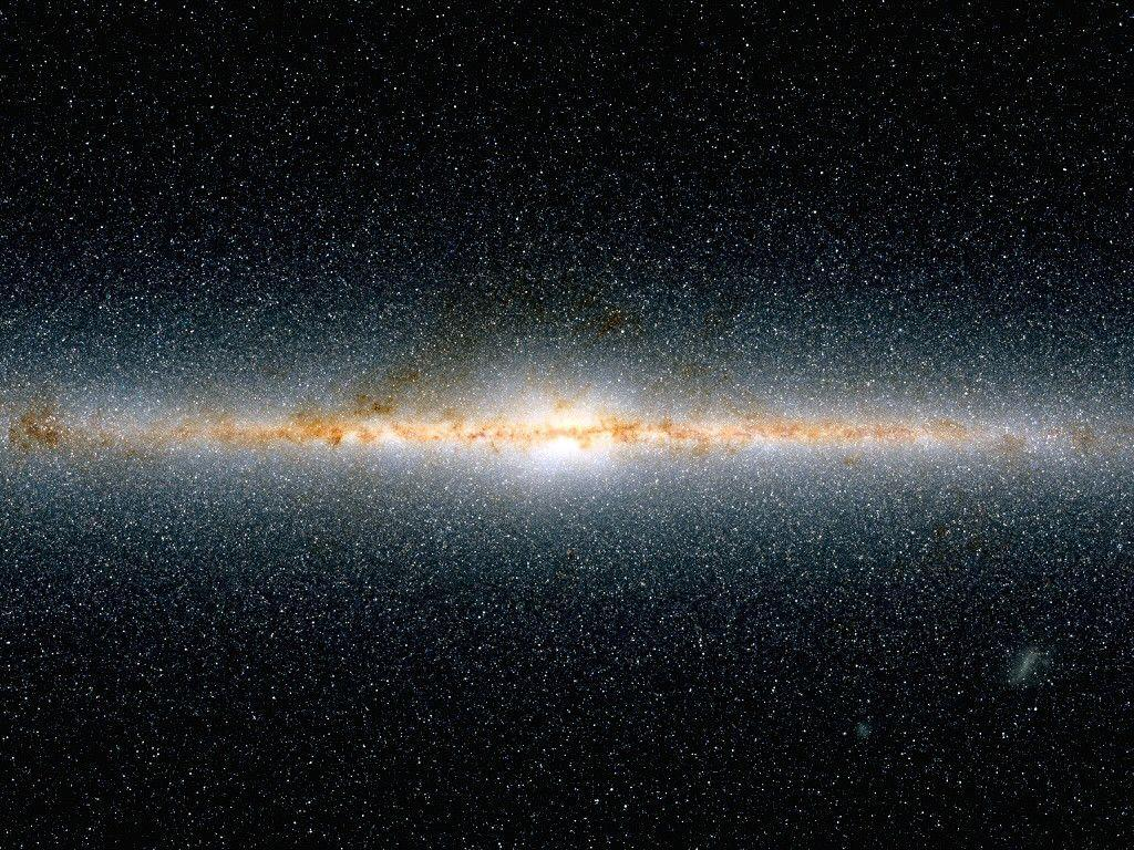 Milky Way On Galaxy - Nature Wallpapers - Wholles.com