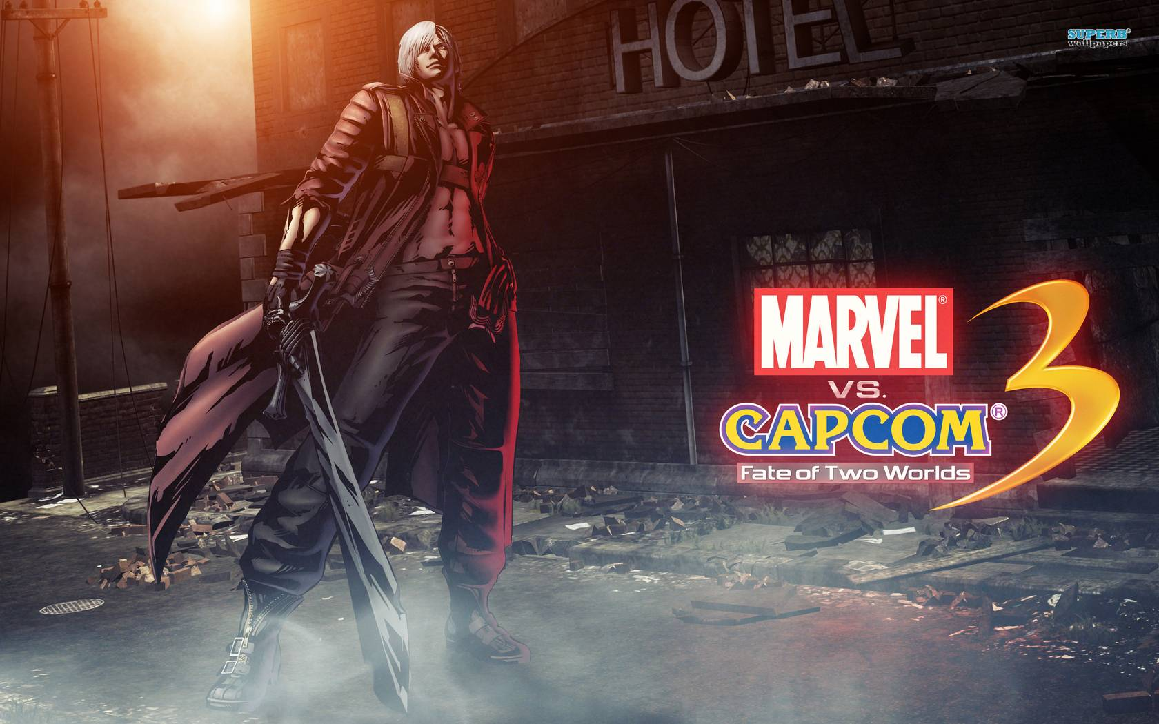 Marvel vs. Capcom 3 Dante wallpapers