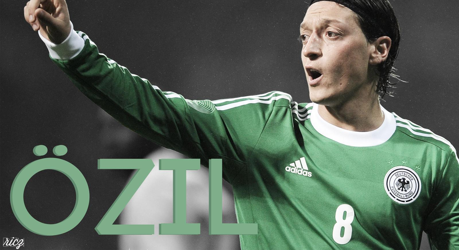 DeviantArt: More Like Mesut Ozil Wallpapers by ricardojsantos
