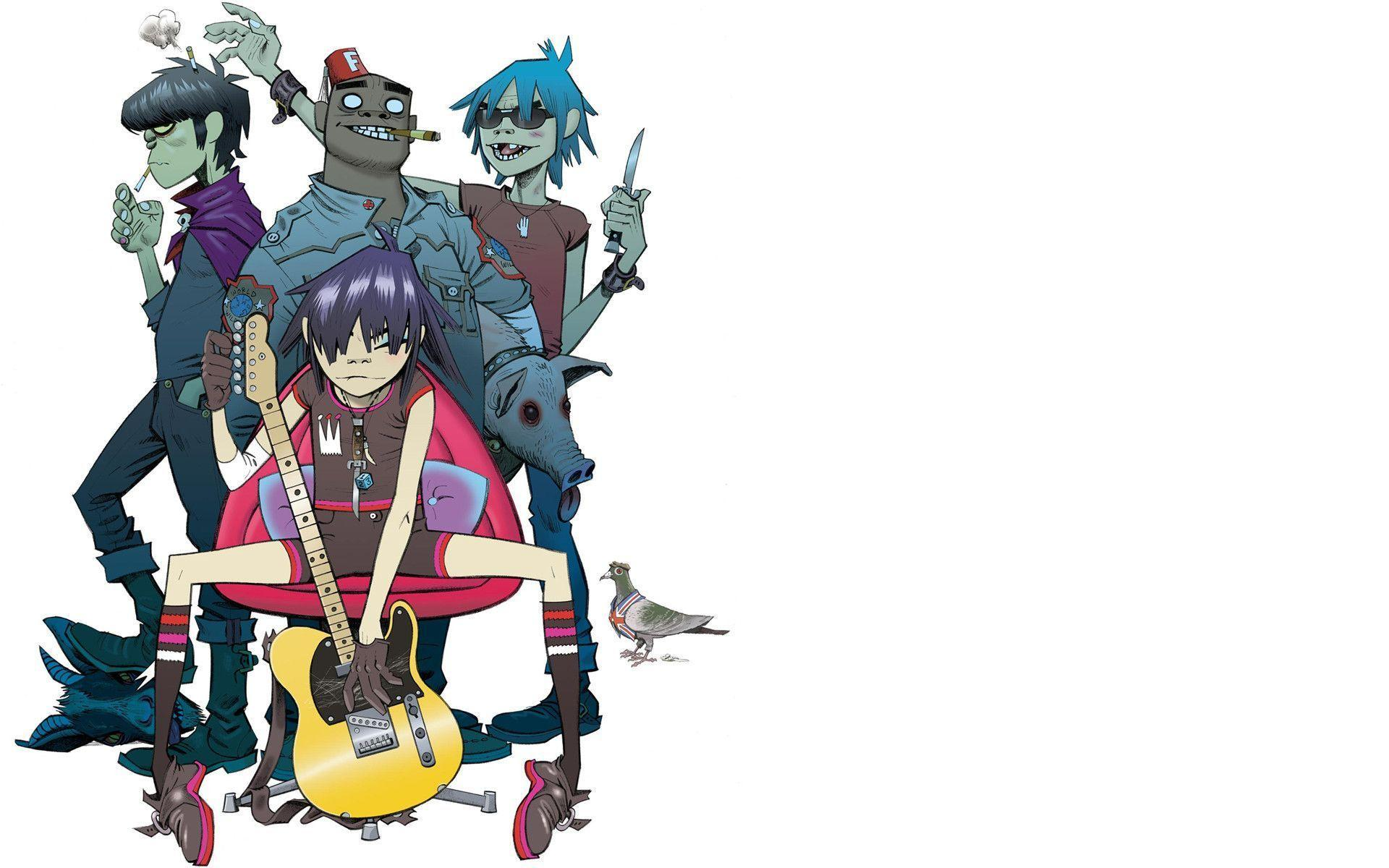 Gorillaz Wallpapers Hd Wallpaper Cave